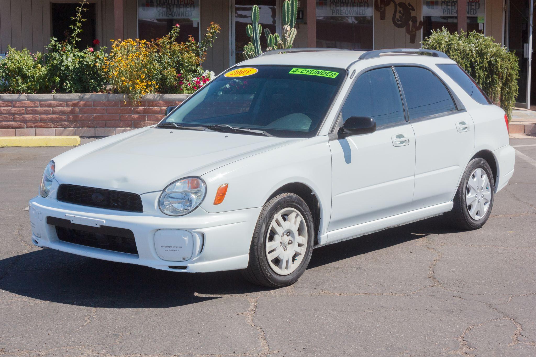 Photo of 2003 Subaru Impreza Wagon 4d Wagon TS Aspen White