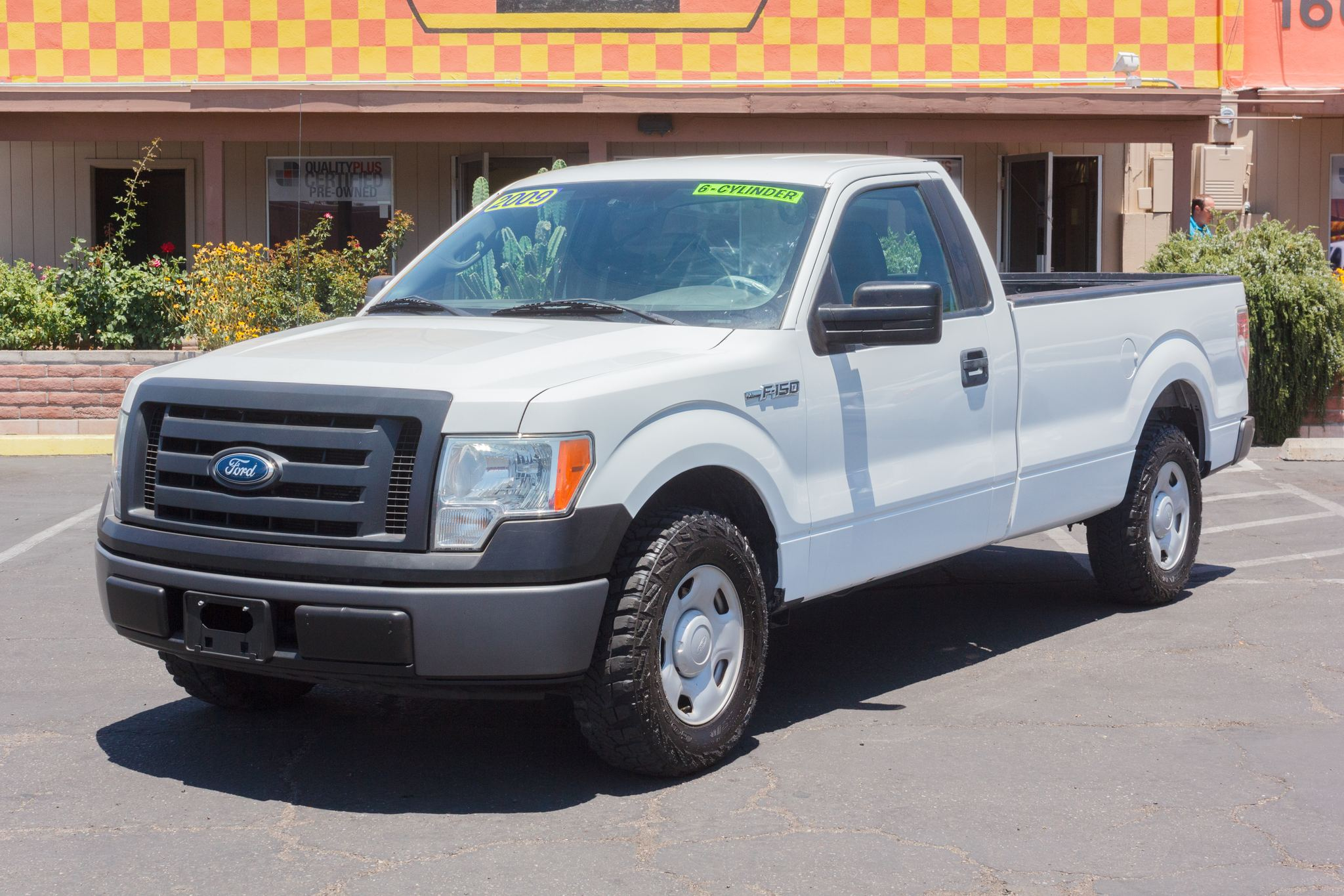 Photo of 2009 Ford F150 2WD Reg Cab XL Longbed White