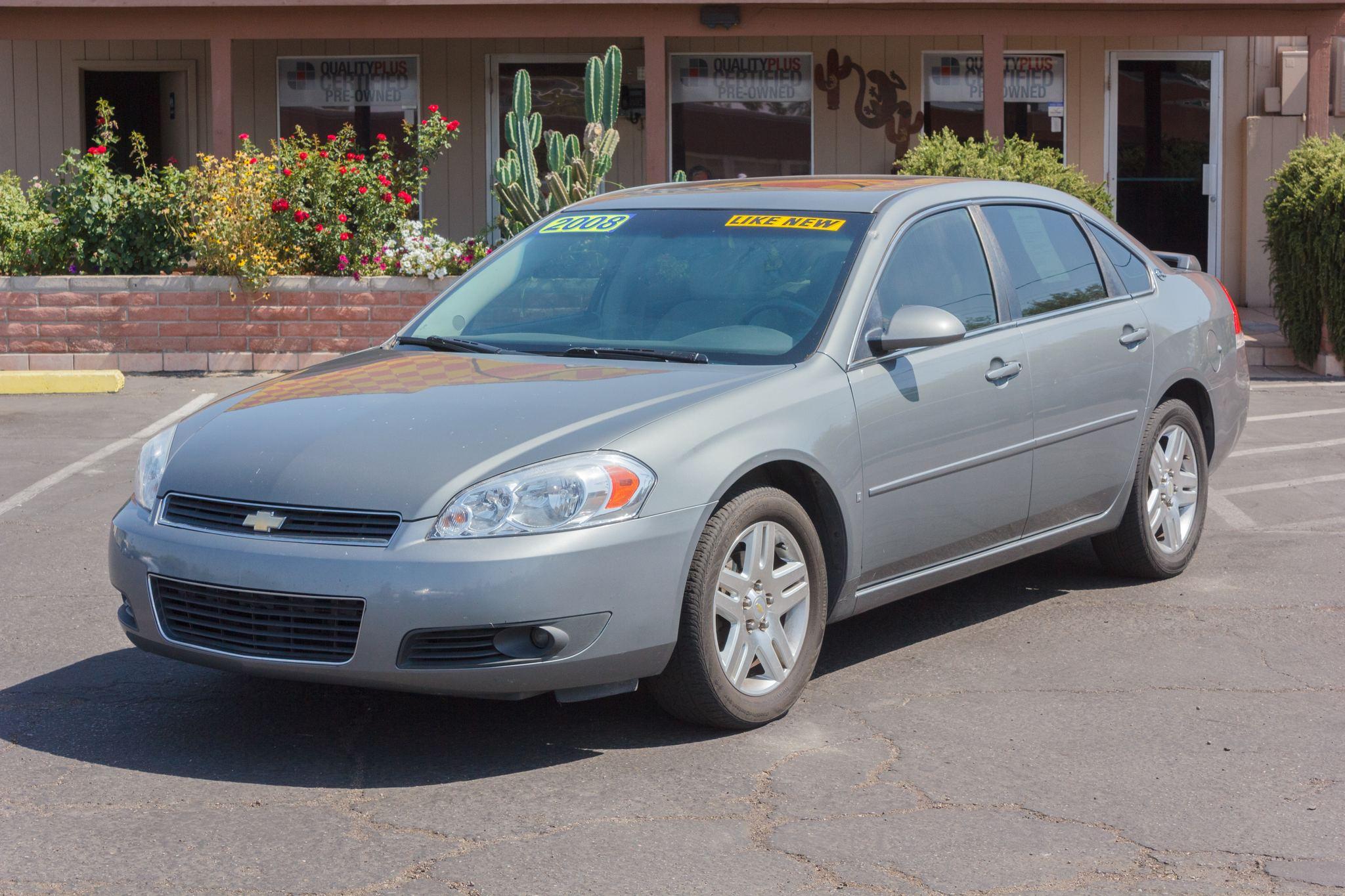 Photo of 2008 Chevrolet Impala 4d Sedan LT 3.9L Slate Metallic