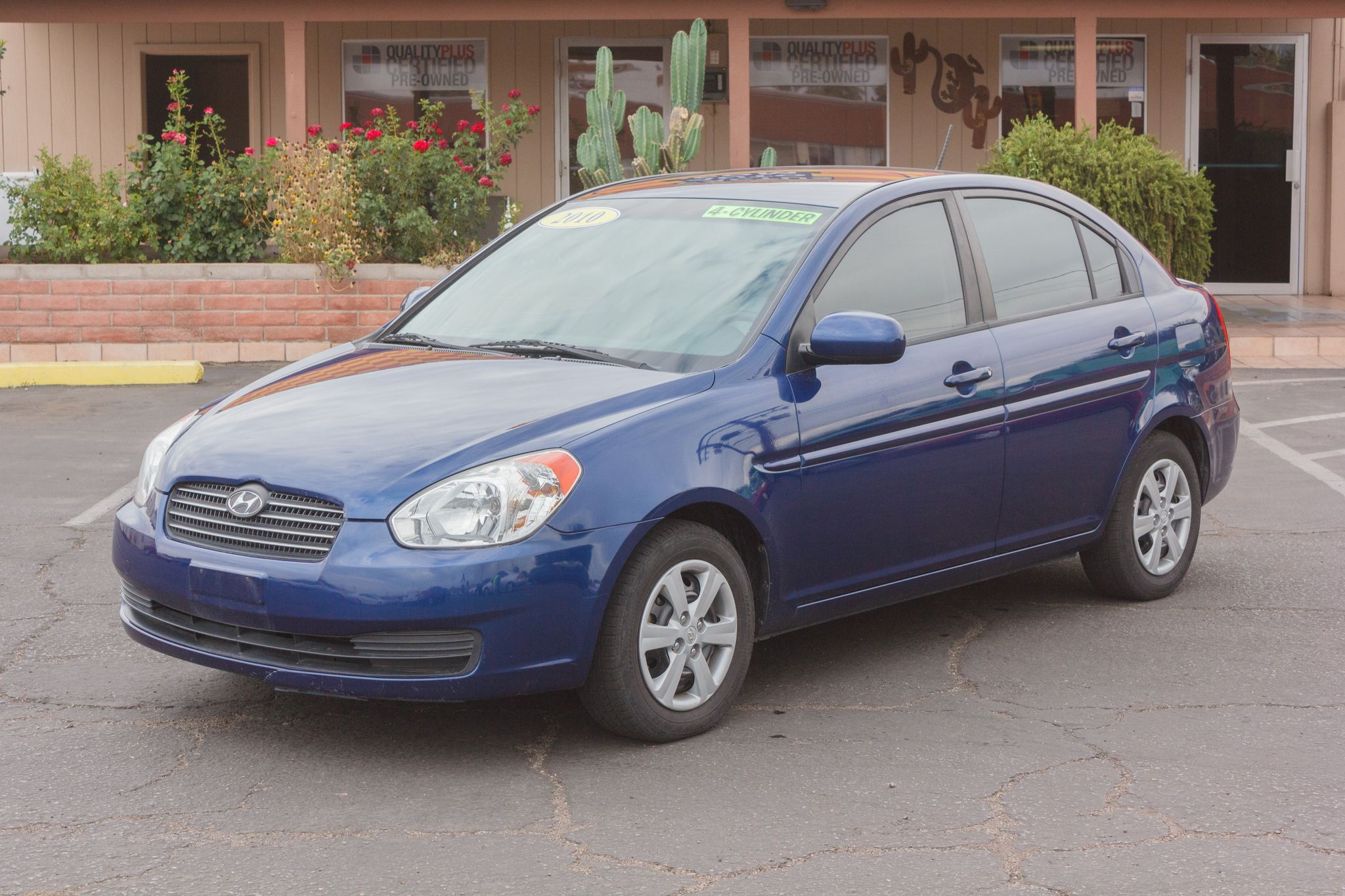 Photo of 2010 Hyundai Accent 4d Sedan GLS Auto Dark Sapphire Blue Pearl