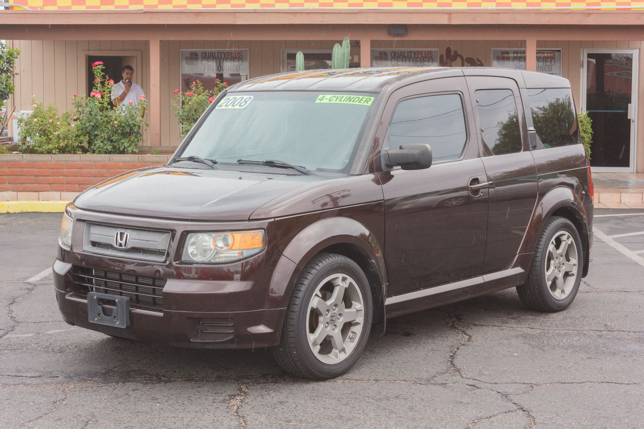 Photo of 2008 Honda Element FWD 5d Wagon SC Auto Tango Red Pearl