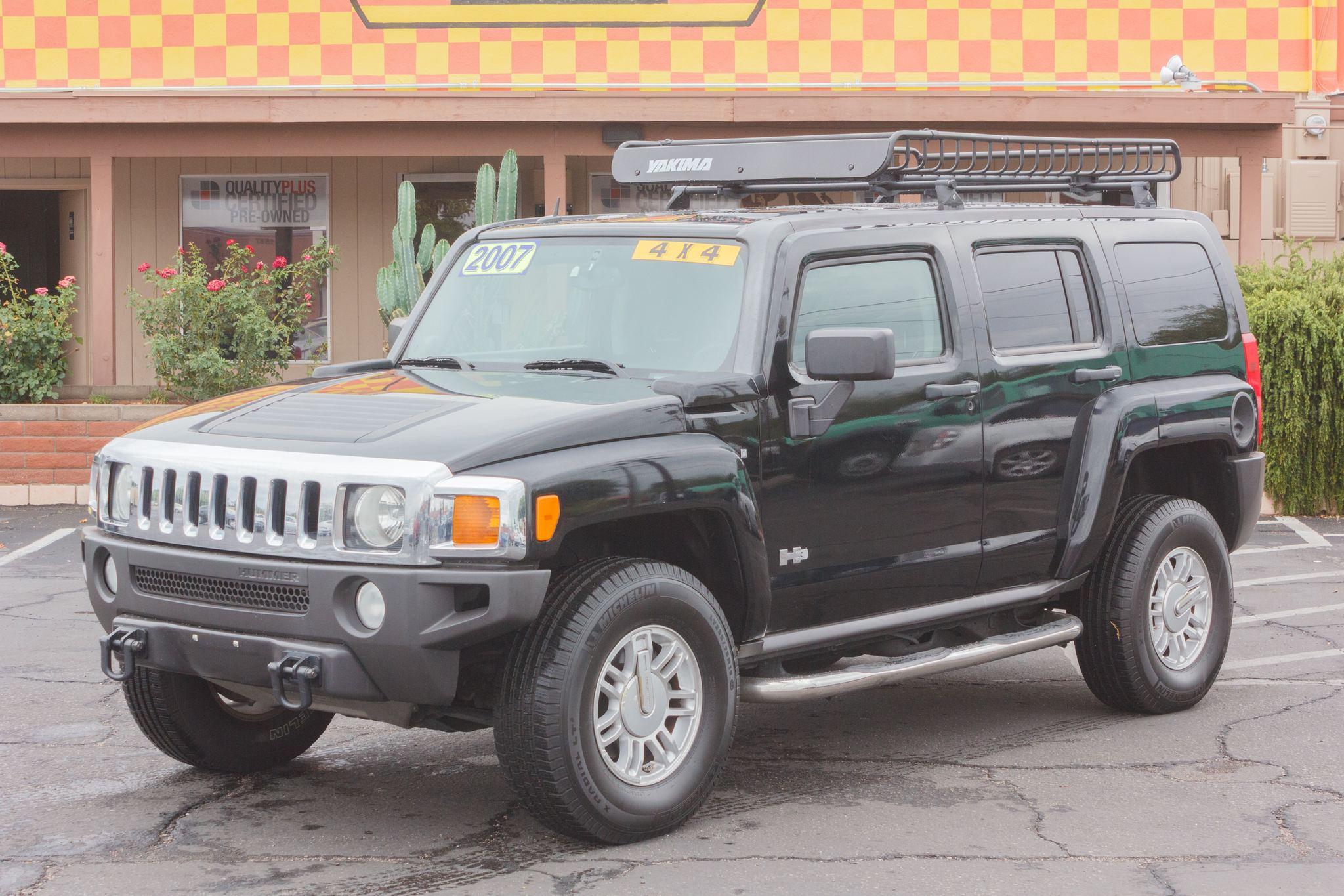 Photo of 2007 Hummer H3 4d Wagon Black