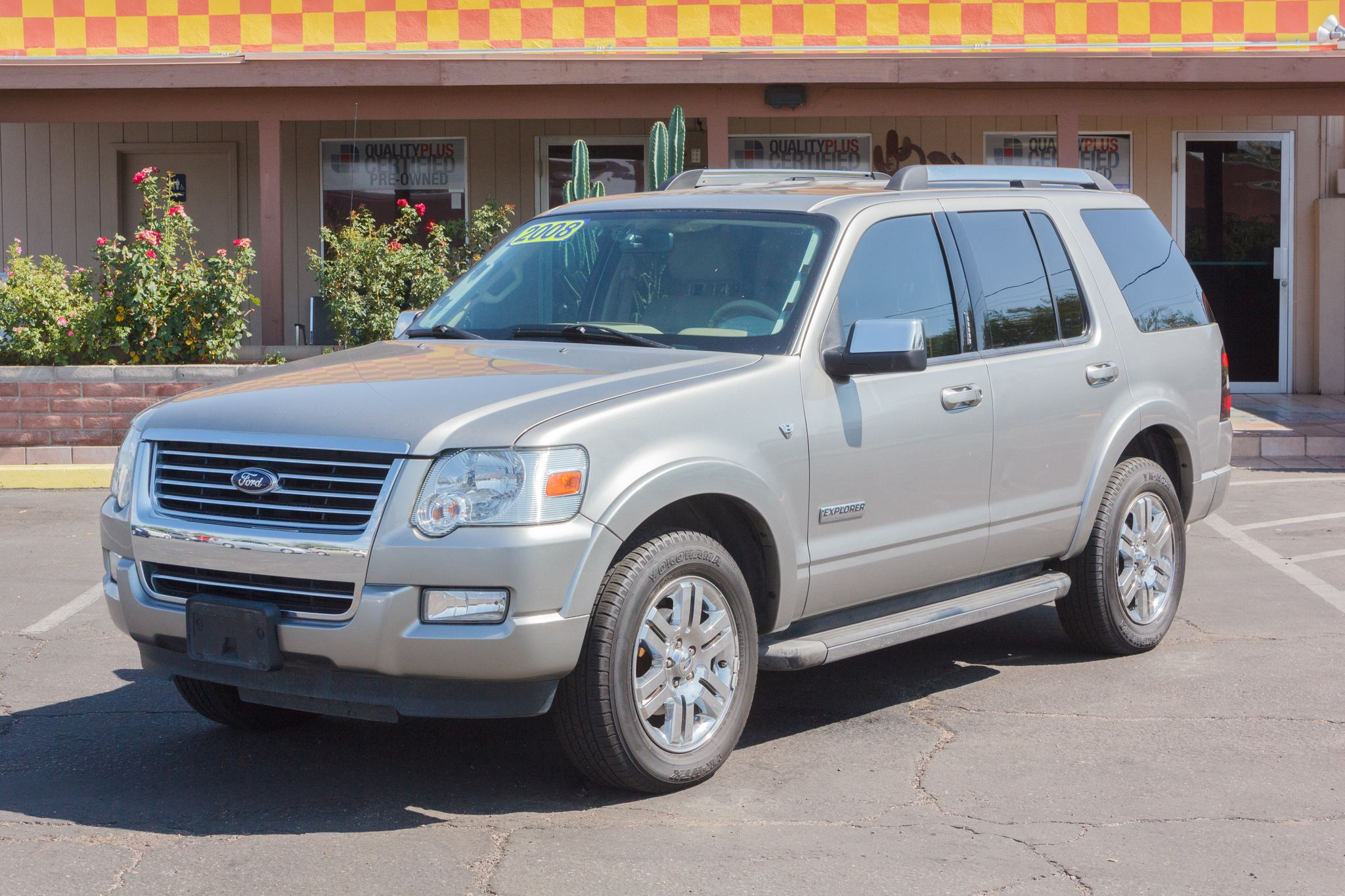 Photo of 2008 Ford Explorer 2WD 4d Wagon Limited V8 Gold
