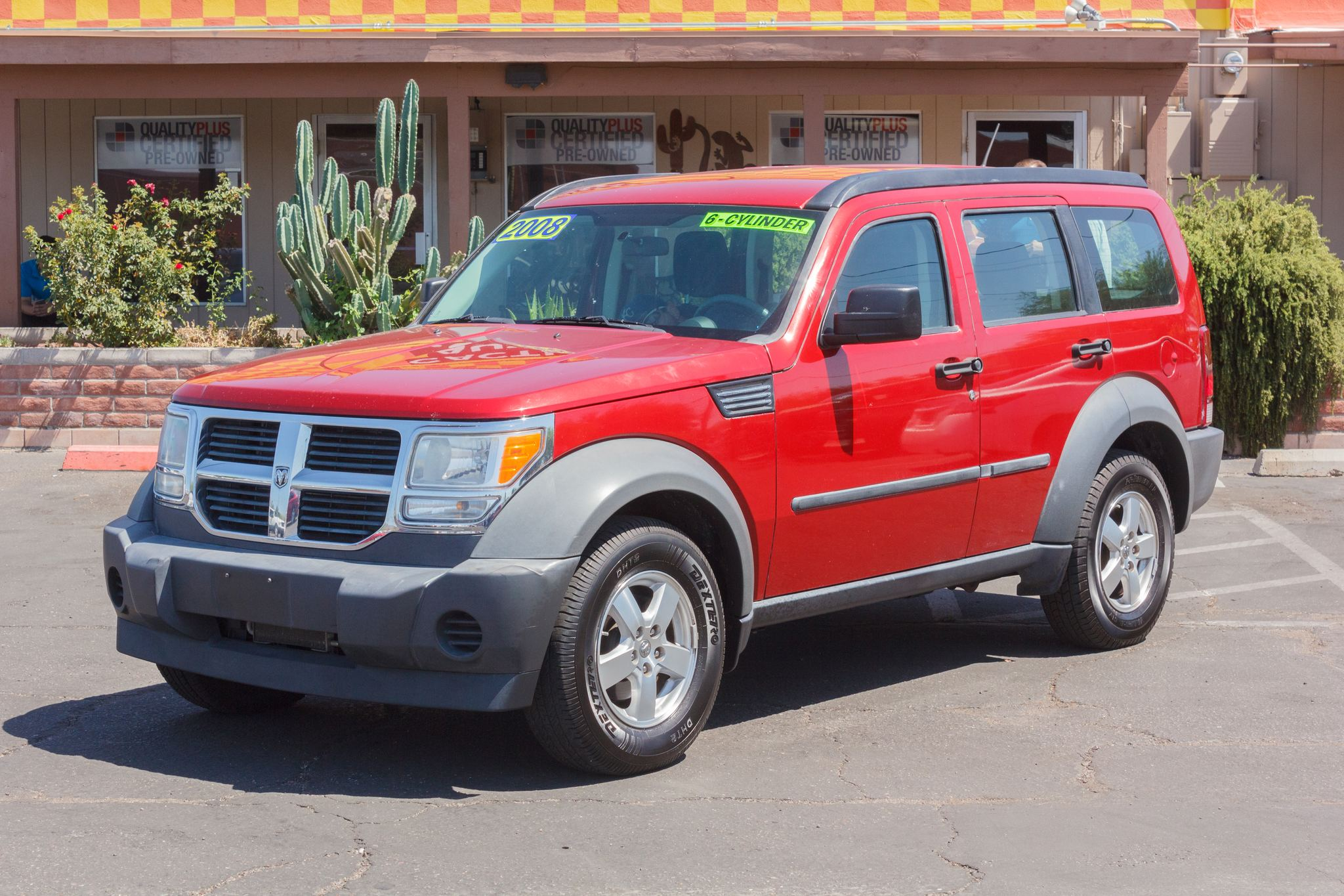 Photo of 2008 Dodge Nitro 2WD 4d Wagon SXT Inferno Red Crystal Pearlcoat