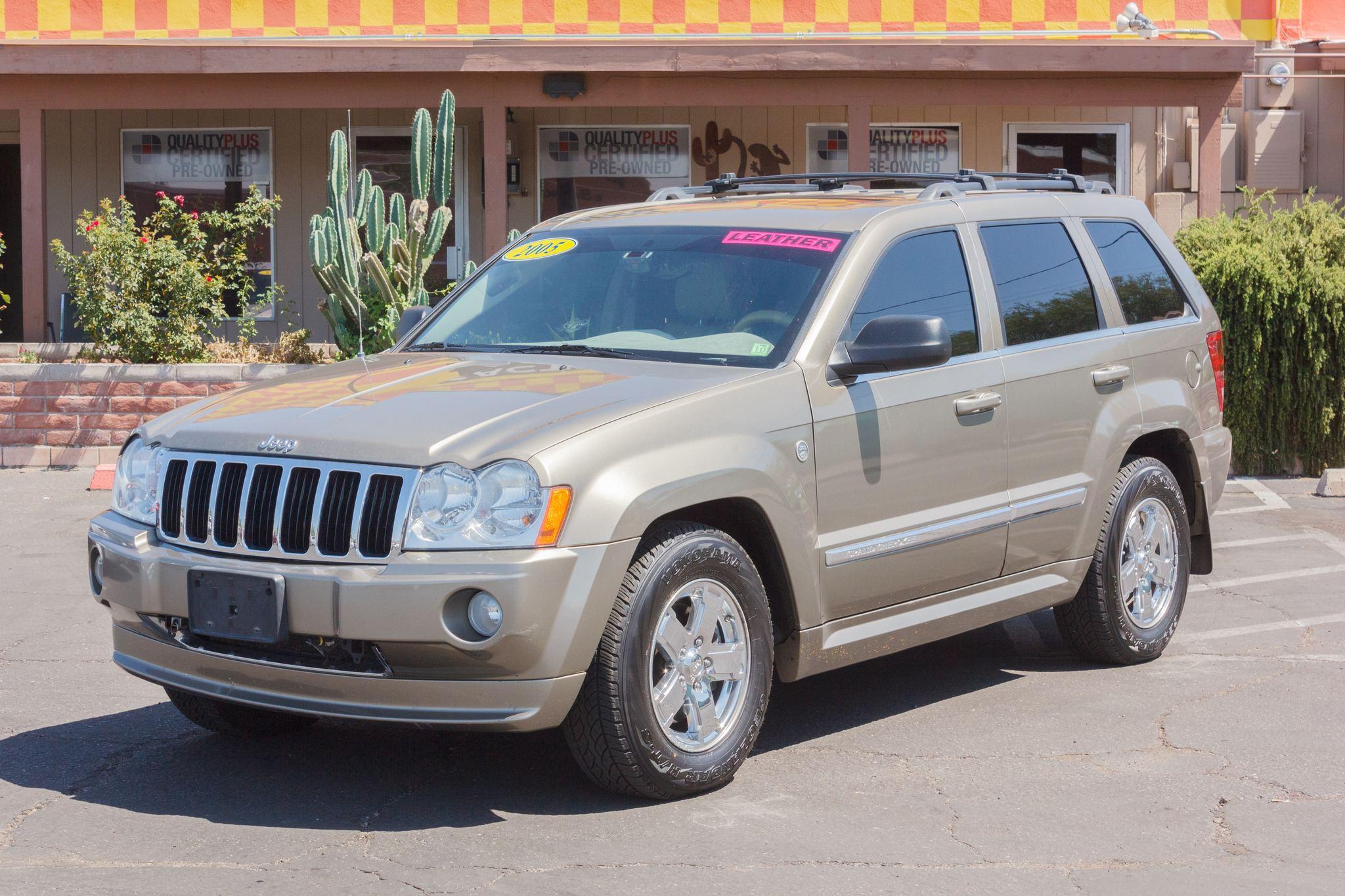 Photo of 2005 Jeep Grand Cherokee 4WD 4d Wagon Limited Hemi Dark Khaki Pearlcoat