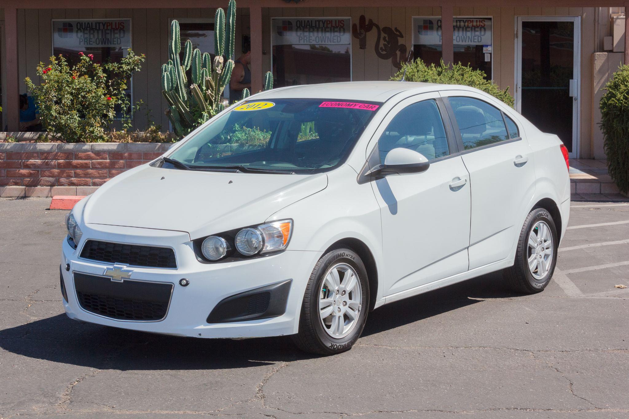 Photo of 2012 Chevrolet Sonic 4d Sedan LS2 Summit White