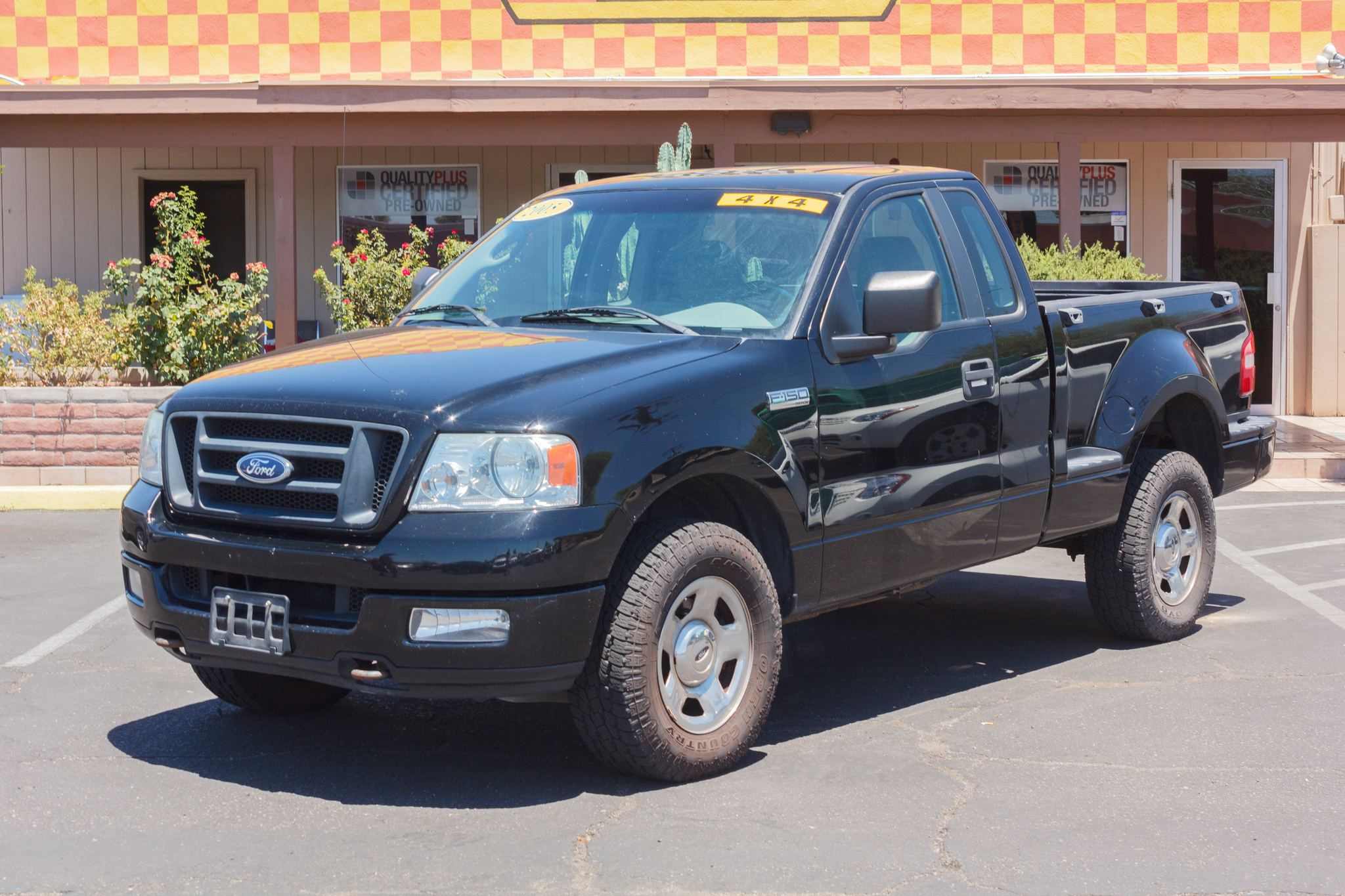 Photo of 2005 Ford F150 4WD Reg Cab STX Flareside Black Clearcoat