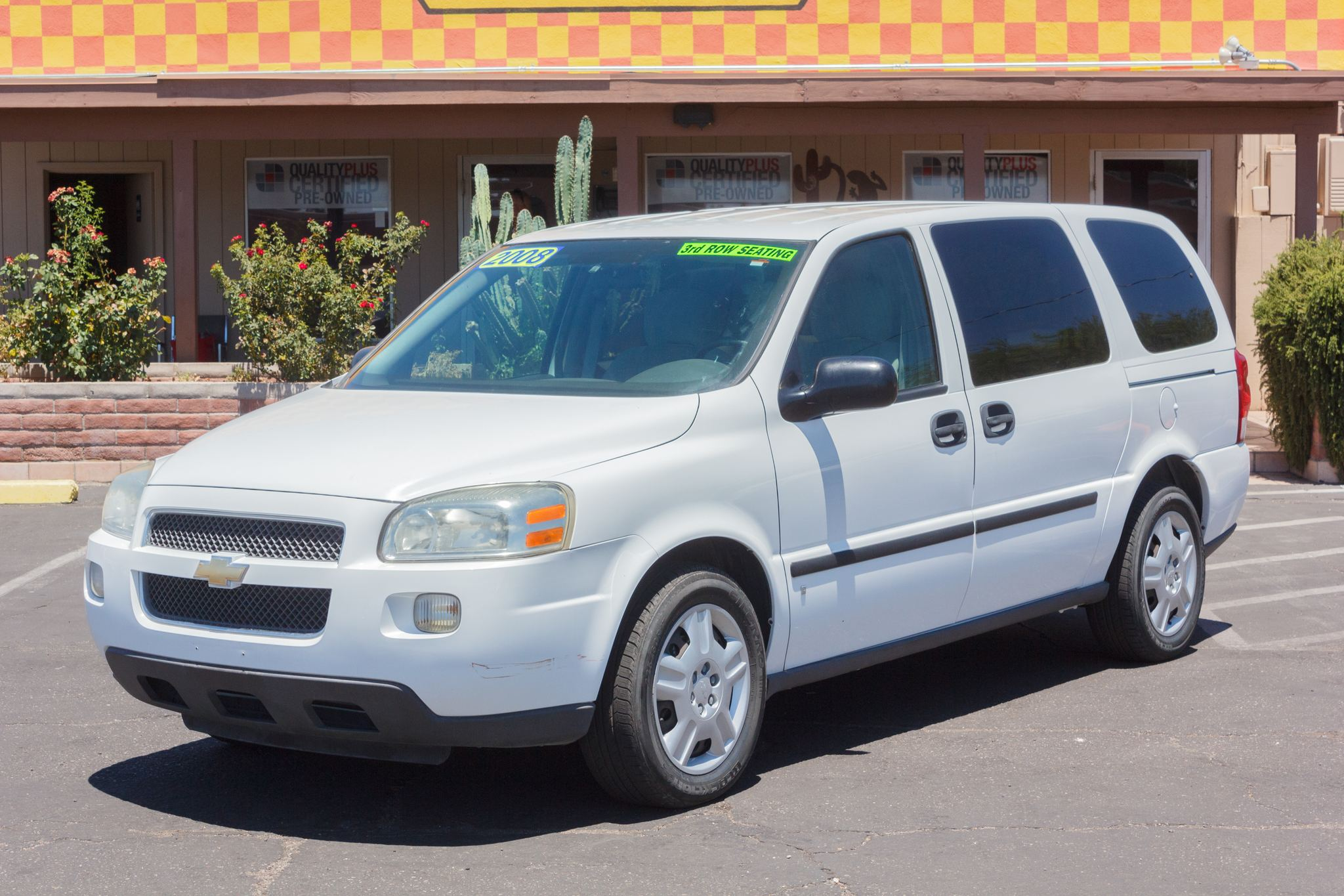 Photo of 2008 Chevrolet Uplander 4d Ext Wagon LS Summit White