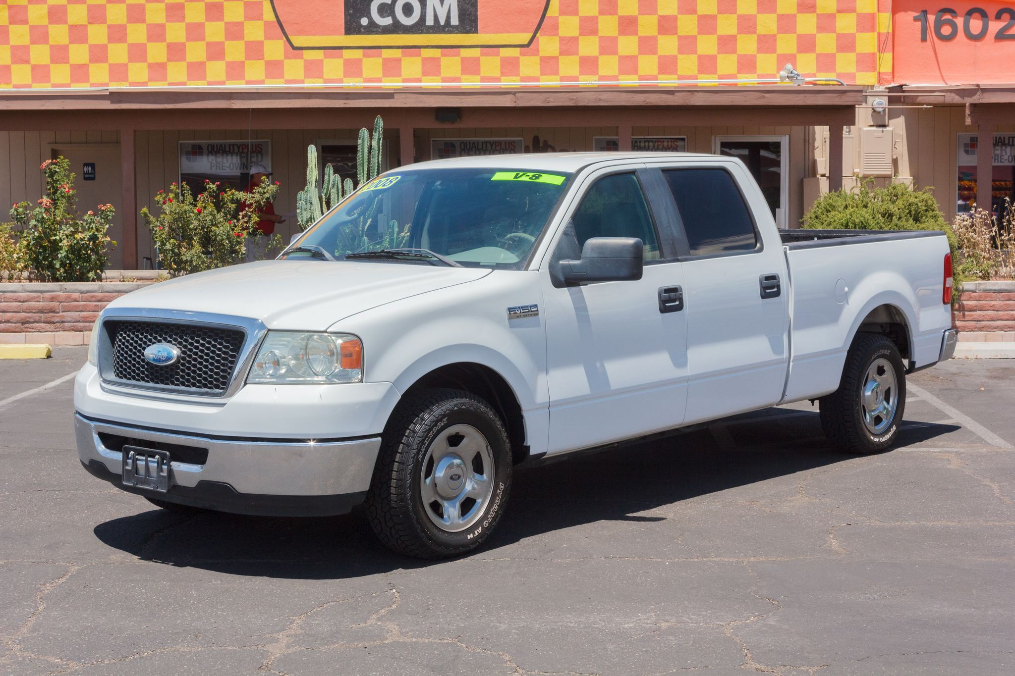 Photo of 2008 Ford F150 2WD Supercrew XLT 6 1/2 White