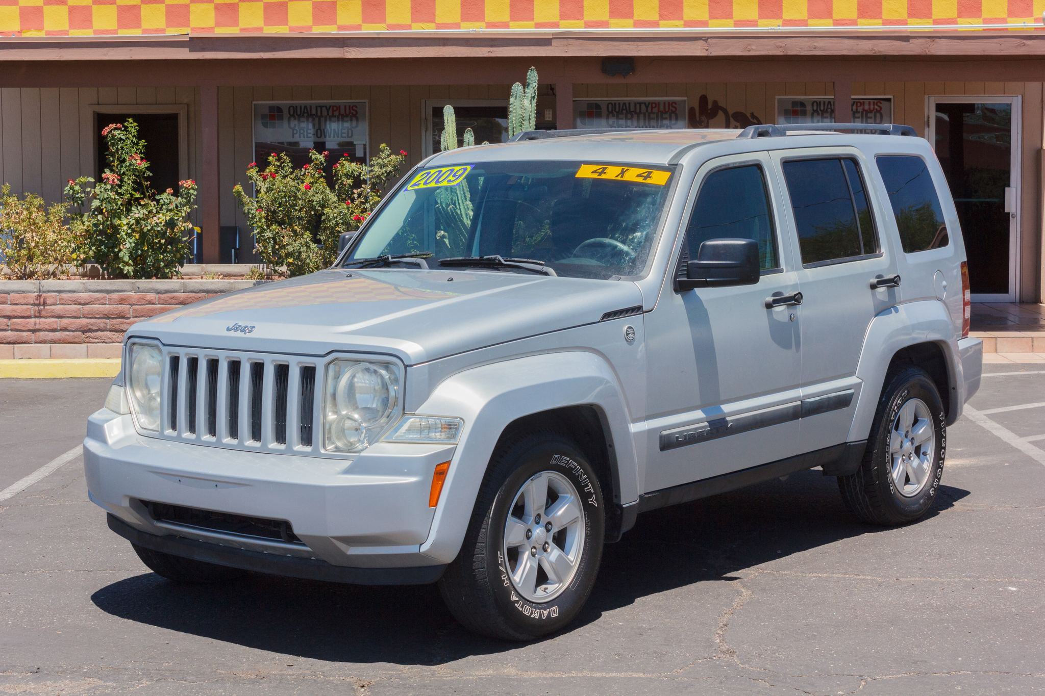 Photo of 2009 Jeep Liberty 4WD 4d Wagon Sport Bright Silver Metallic Clearcoat