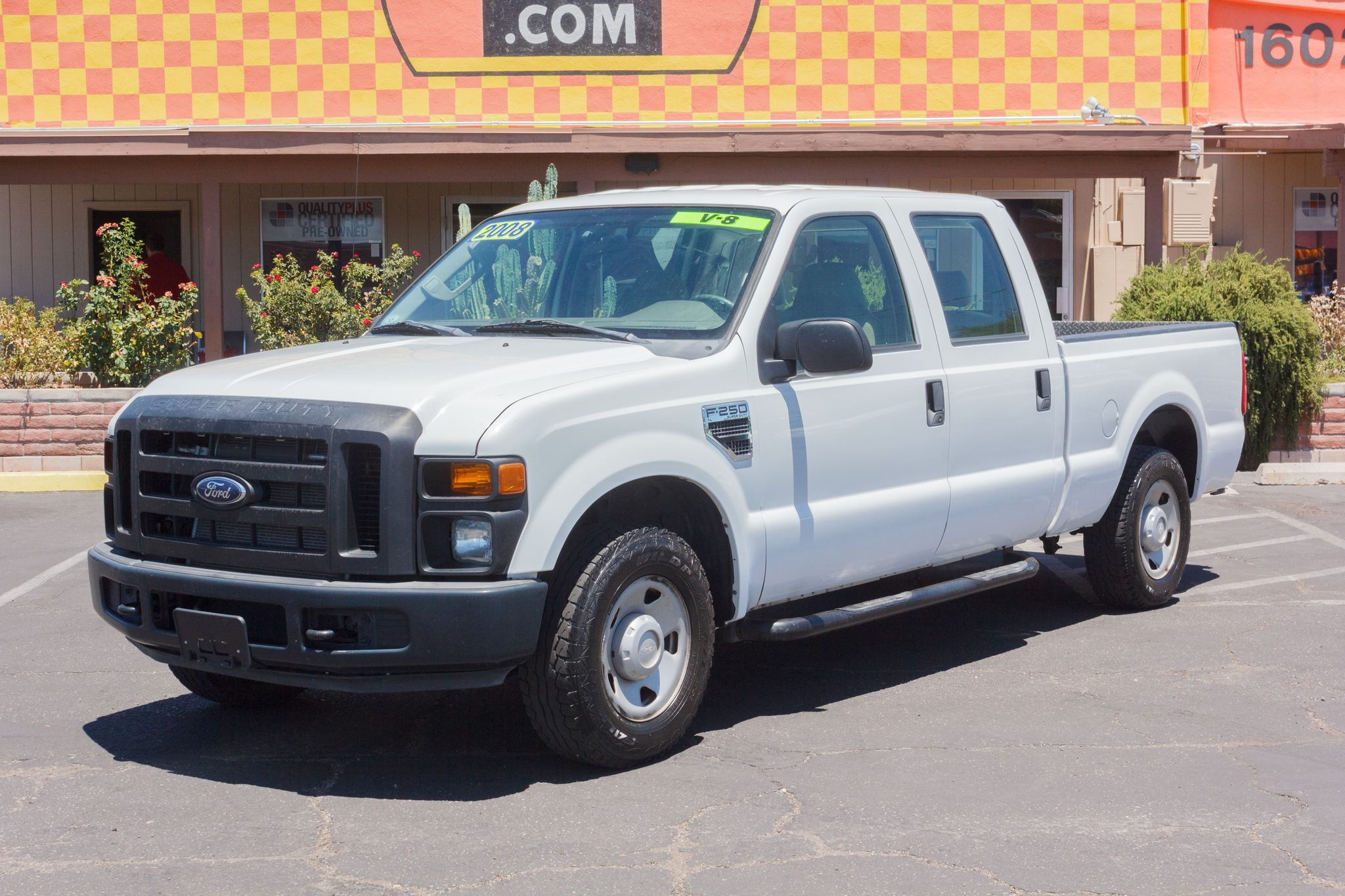 Photo of 2008 Ford F250 2WD Crew Cab XL Longbed Oxford White Clearcoat