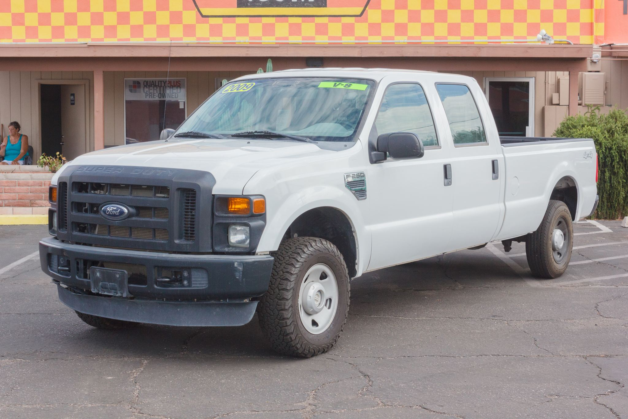 Photo of 2009 Ford F250 4WD Crew Cab XL Longbed