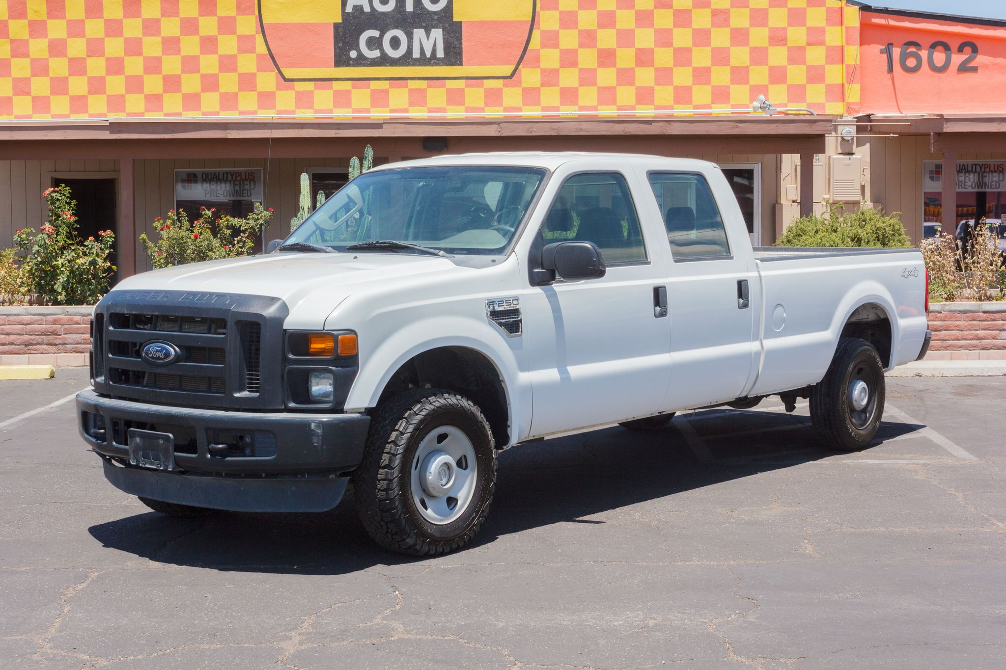 Photo of 2009 Ford F250 4WD Crew Cab XL Longbed Oxford White Clearcoat