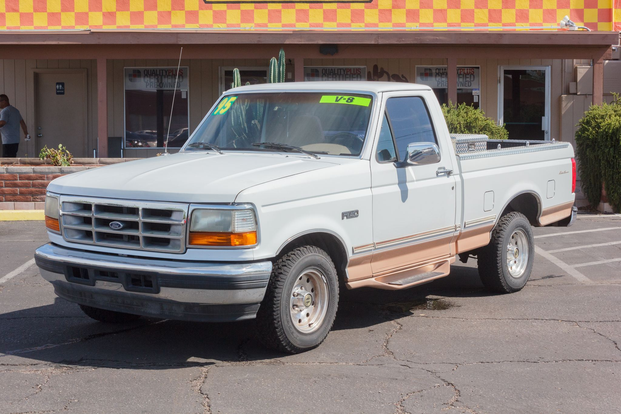 Photo of 1995 Ford F150 2WD Reg Cab E Bauer