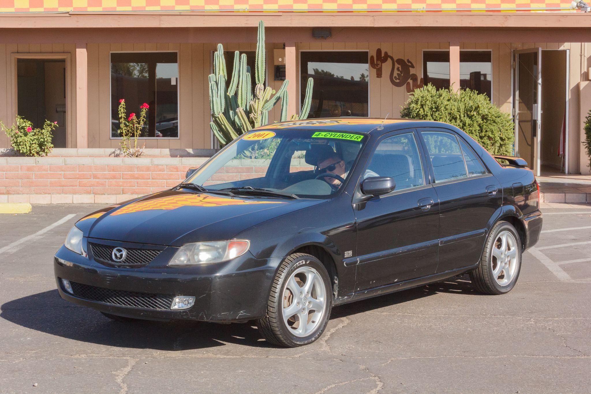 Photo of 2001 Mazda Protege 4d Sedan ES