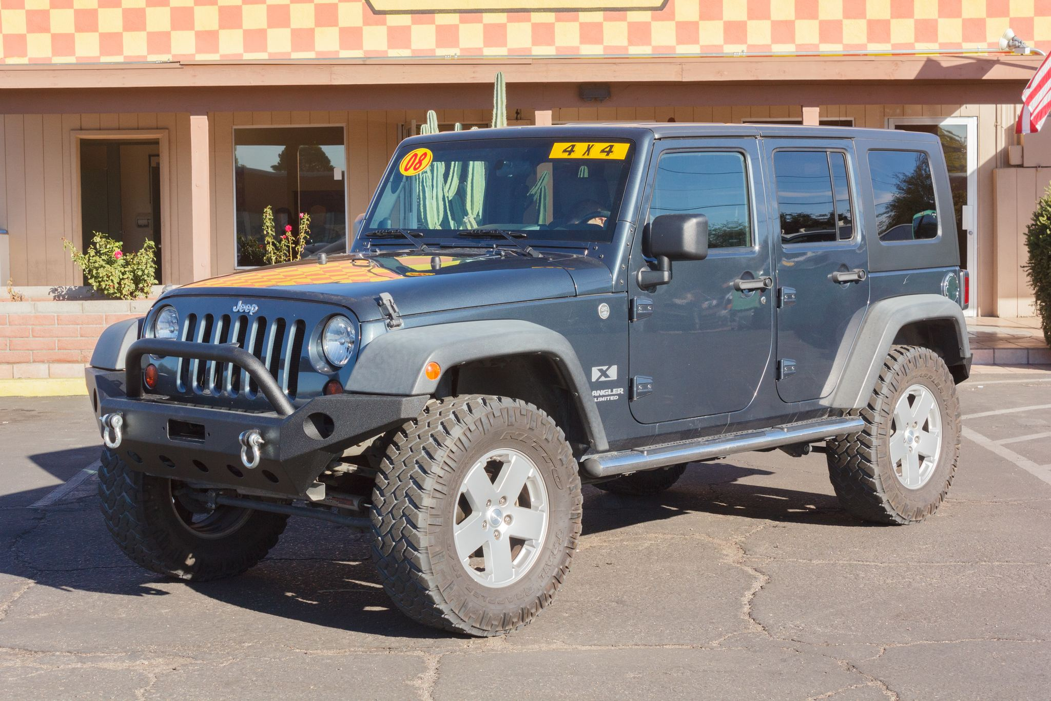 Photo of 2008 Jeep Wrangler Unlimited 4d Convertible 4WD X