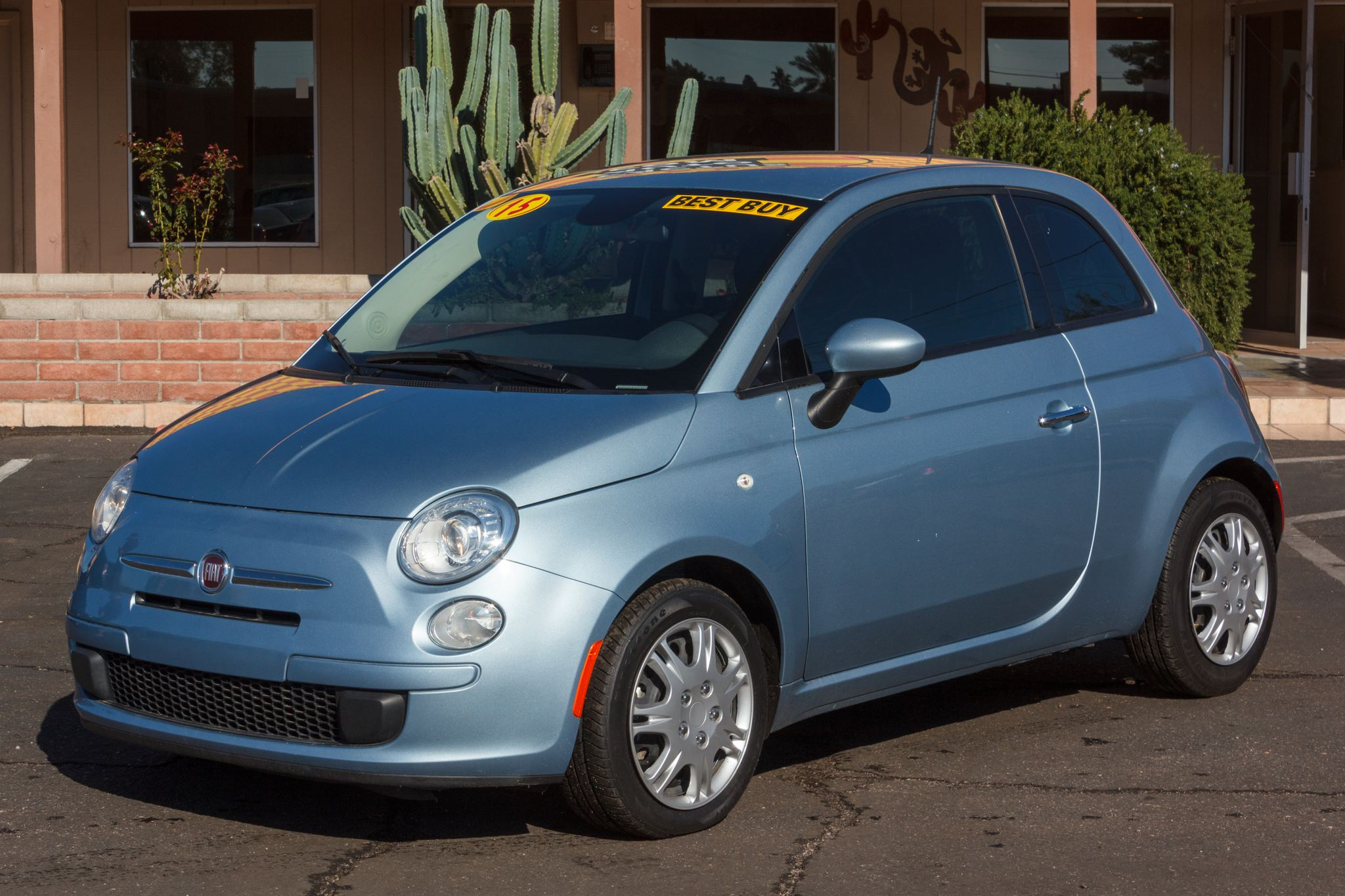 Photo of 2015 Fiat 500 2d Hatchback Pop