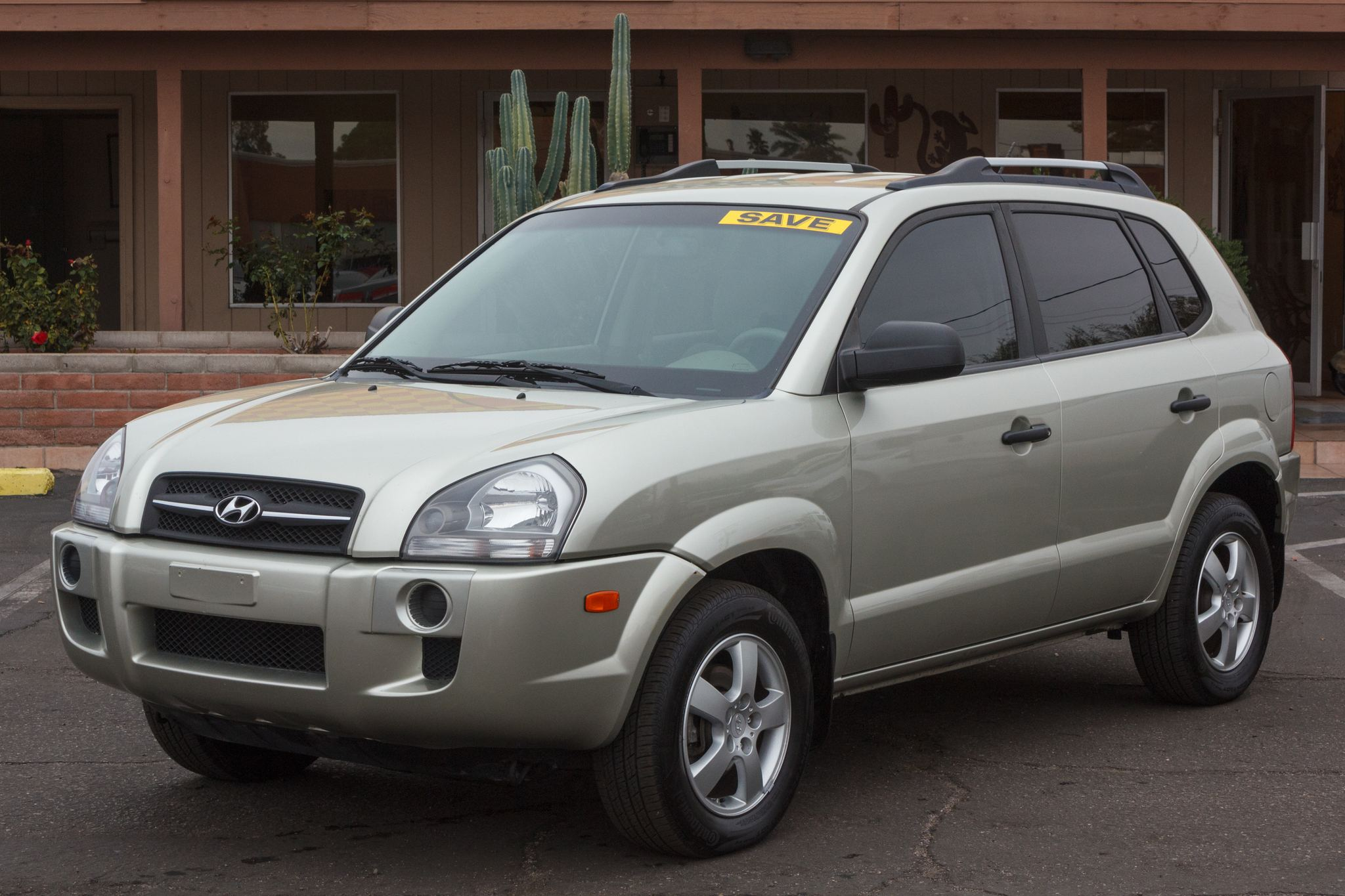 Photo of 2008 Hyundai Tucson 5d Wagon FWD GLS Auto