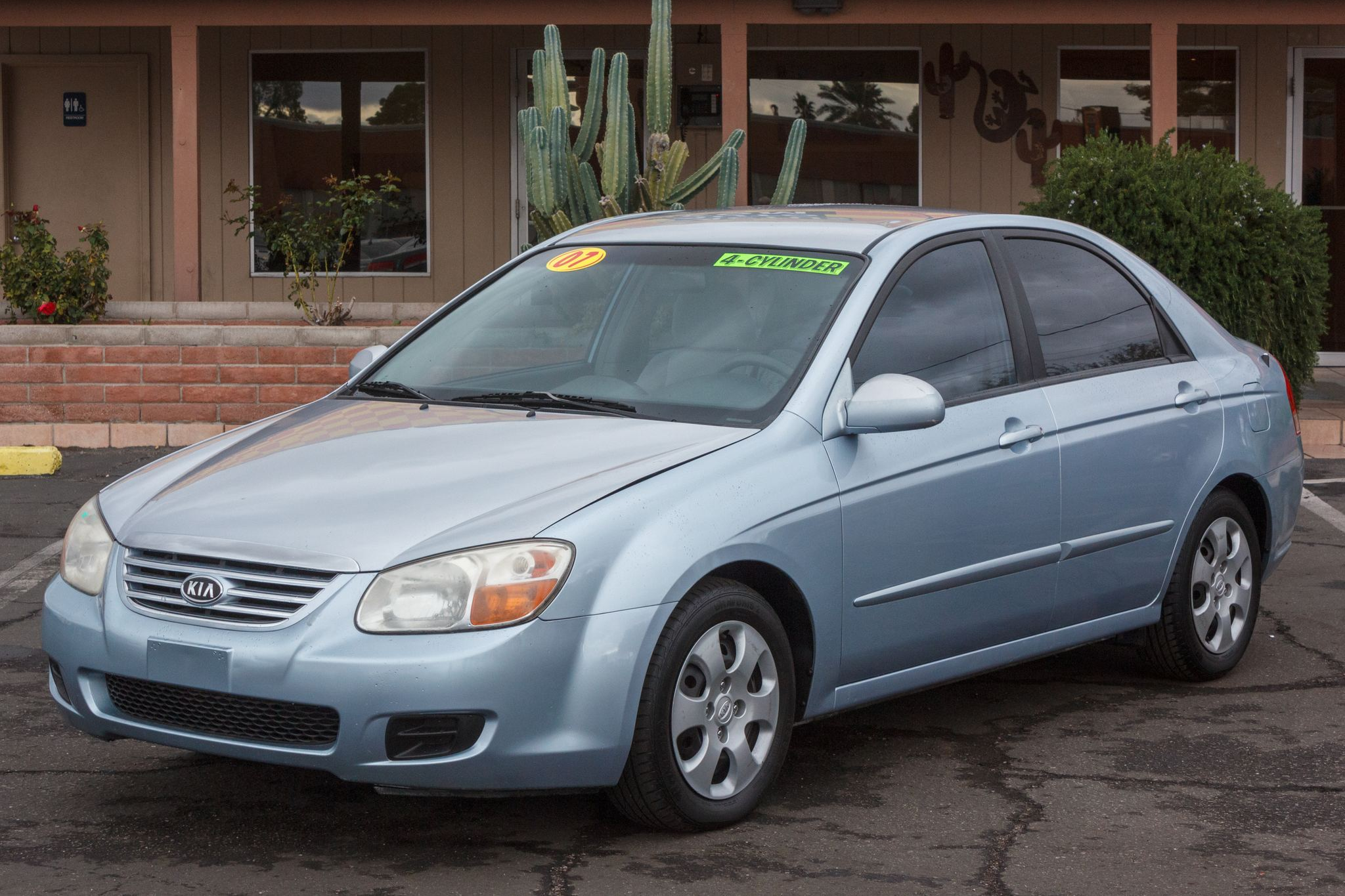 Photo of 2007 Kia Spectra 4d Sedan EX Auto