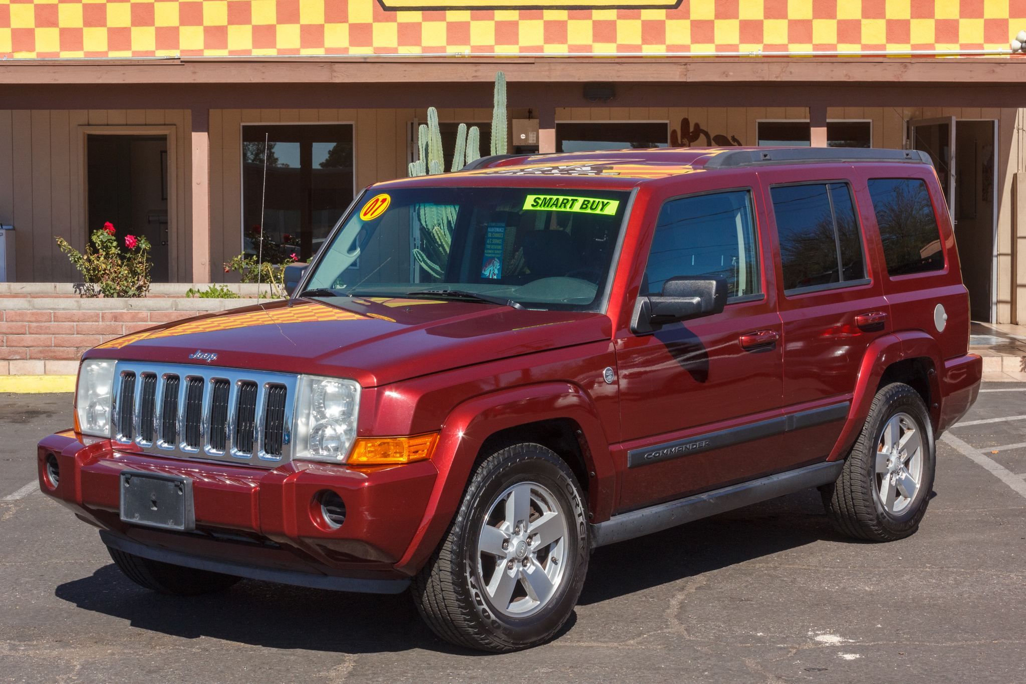Photo of 2007 Jeep Commander 4WD 4d Wagon Sport (V8)