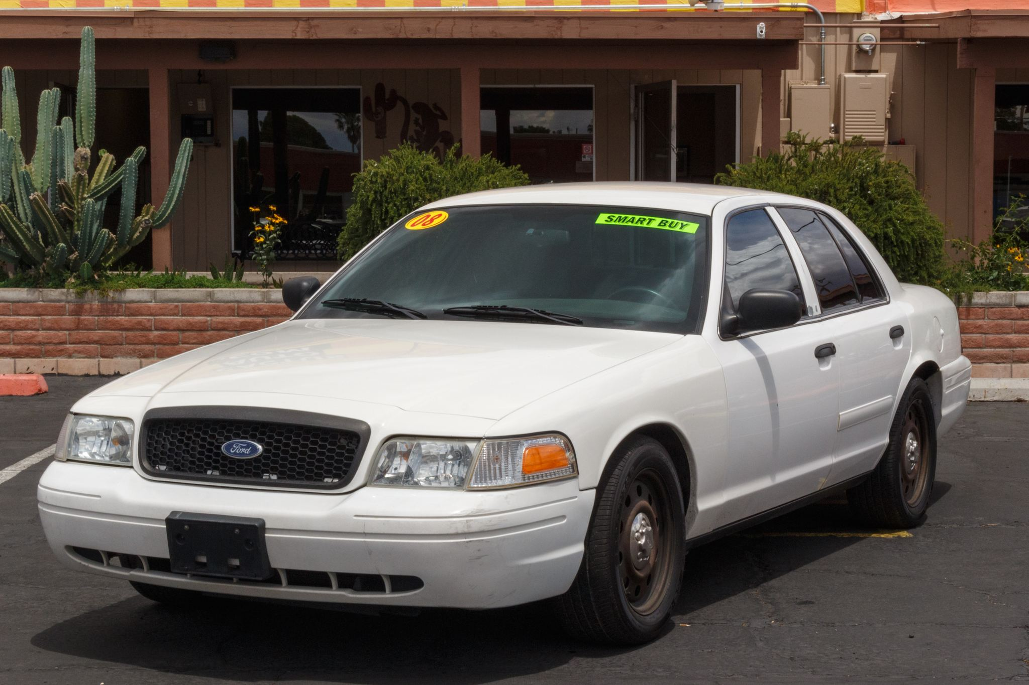 Photo of 2008 Ford Crown Victoria 4d Sedan Police