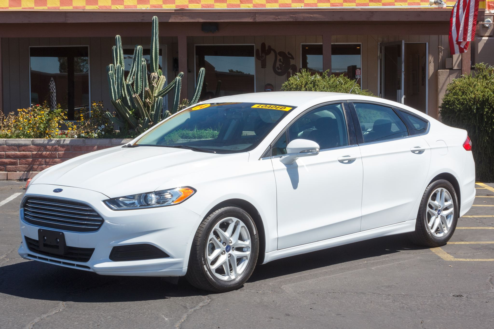 Photo of 2014 Ford Fusion 4d Sedan SE