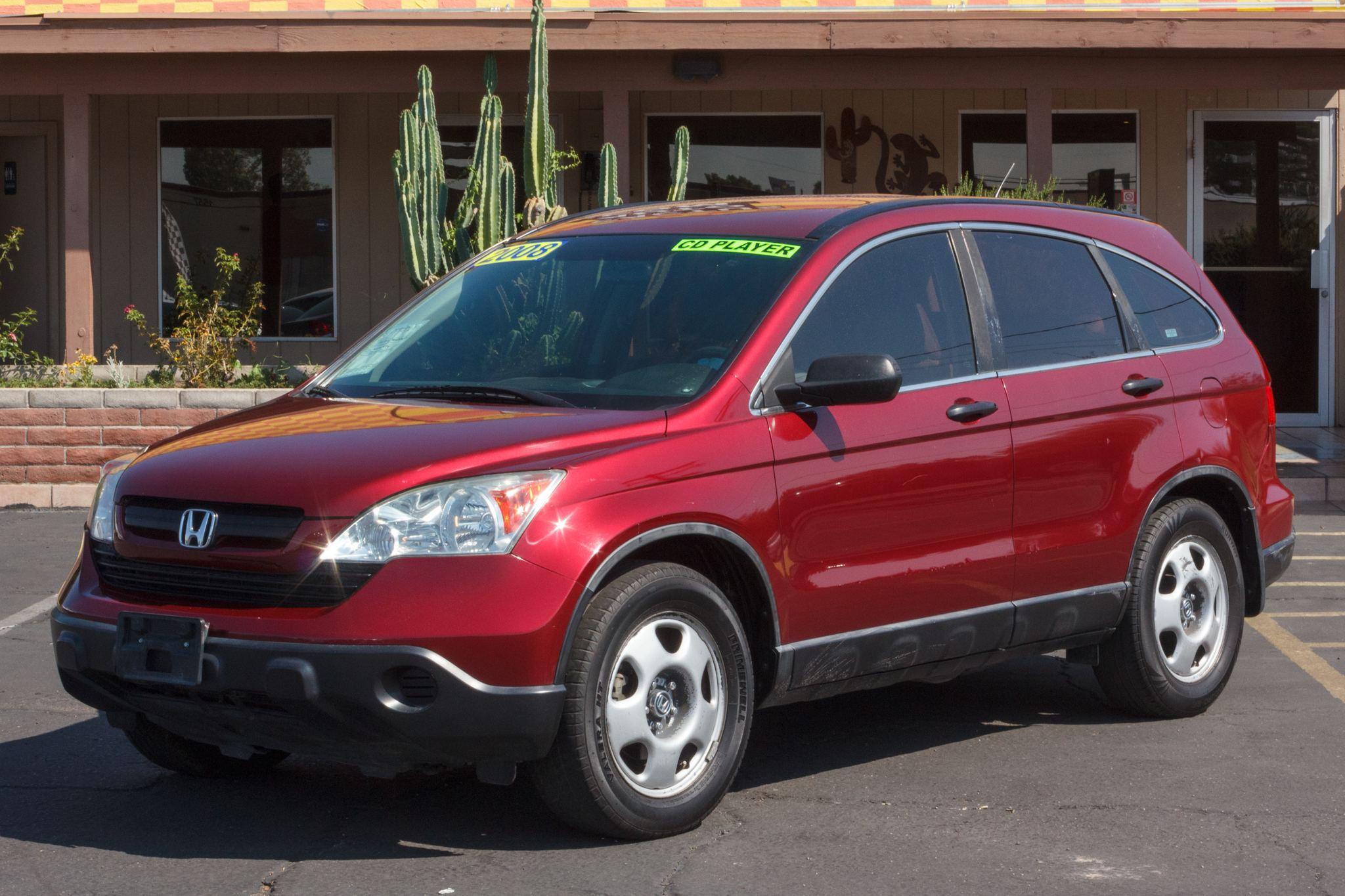 Photo of 2008 Honda CR-V 4d SUV FWD LX