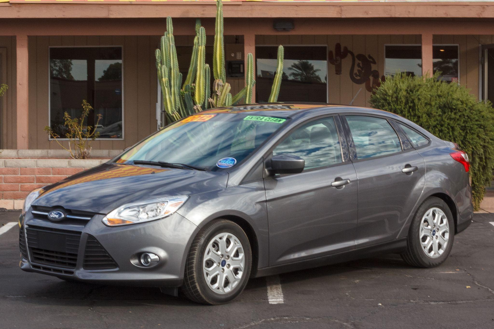Photo of 2012 Ford Focus 4d Sedan SE