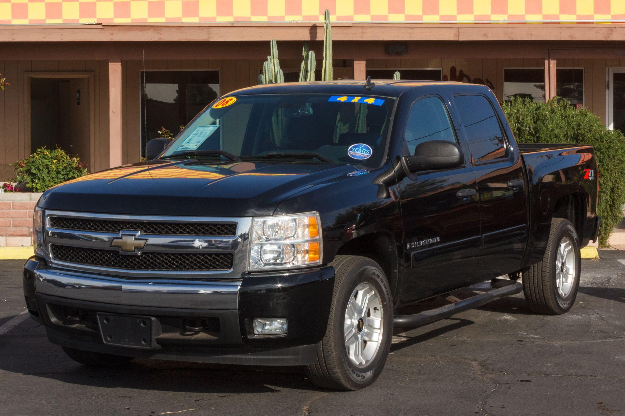 Photo of 2008 Chevrolet Silverado 1500 4WD Crew Cab LT1