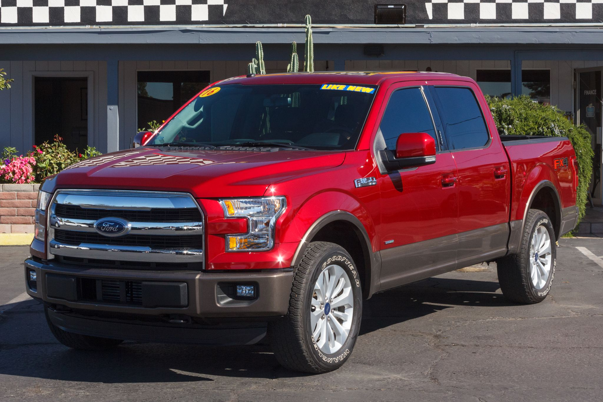 Photo of 2016 Ford F150 4WD SuperCrew Lariat 5 1/2