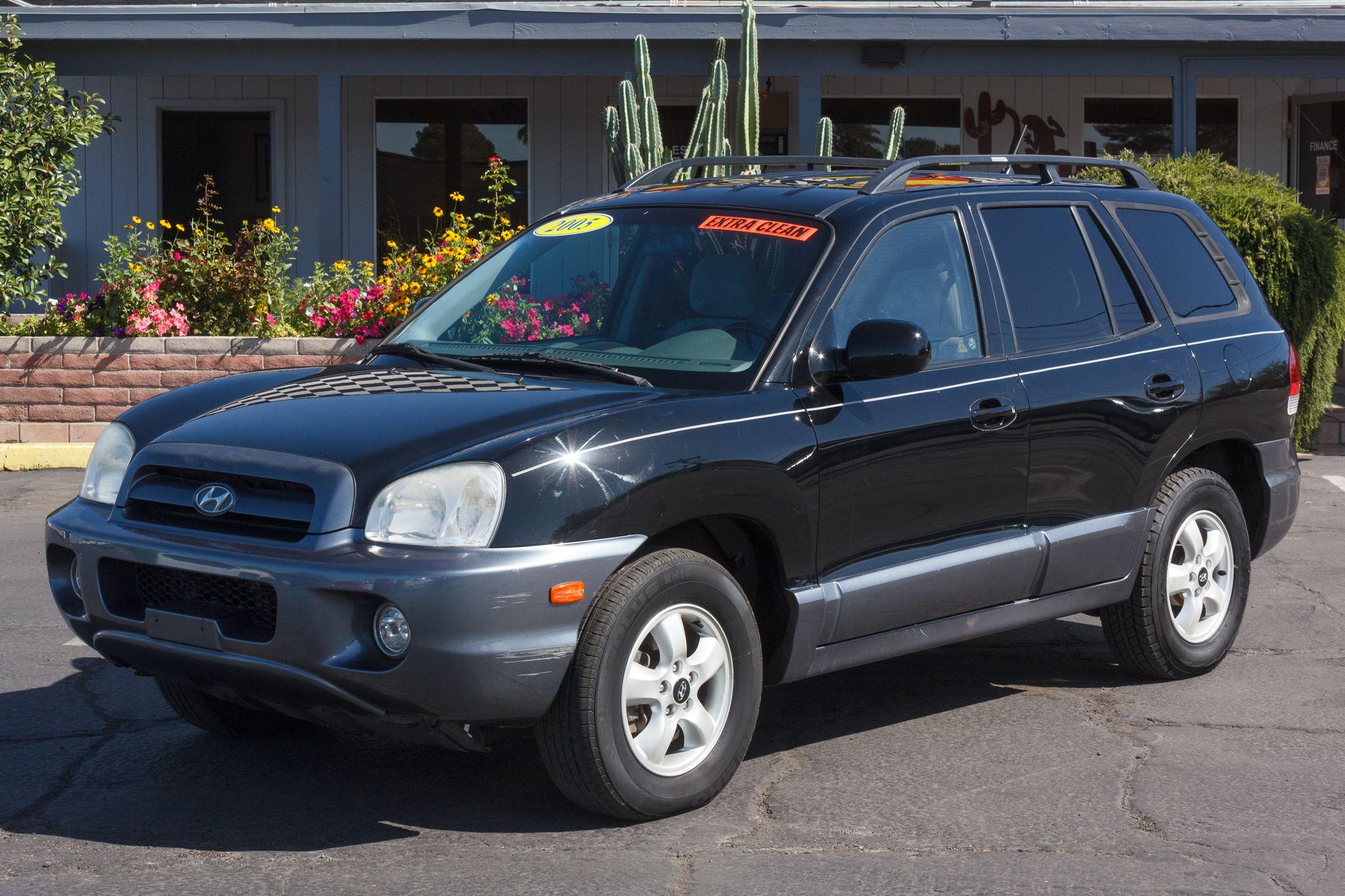 Photo of 2005 Hyundai Santa Fe 4d SUV FWD GLS 2.7L