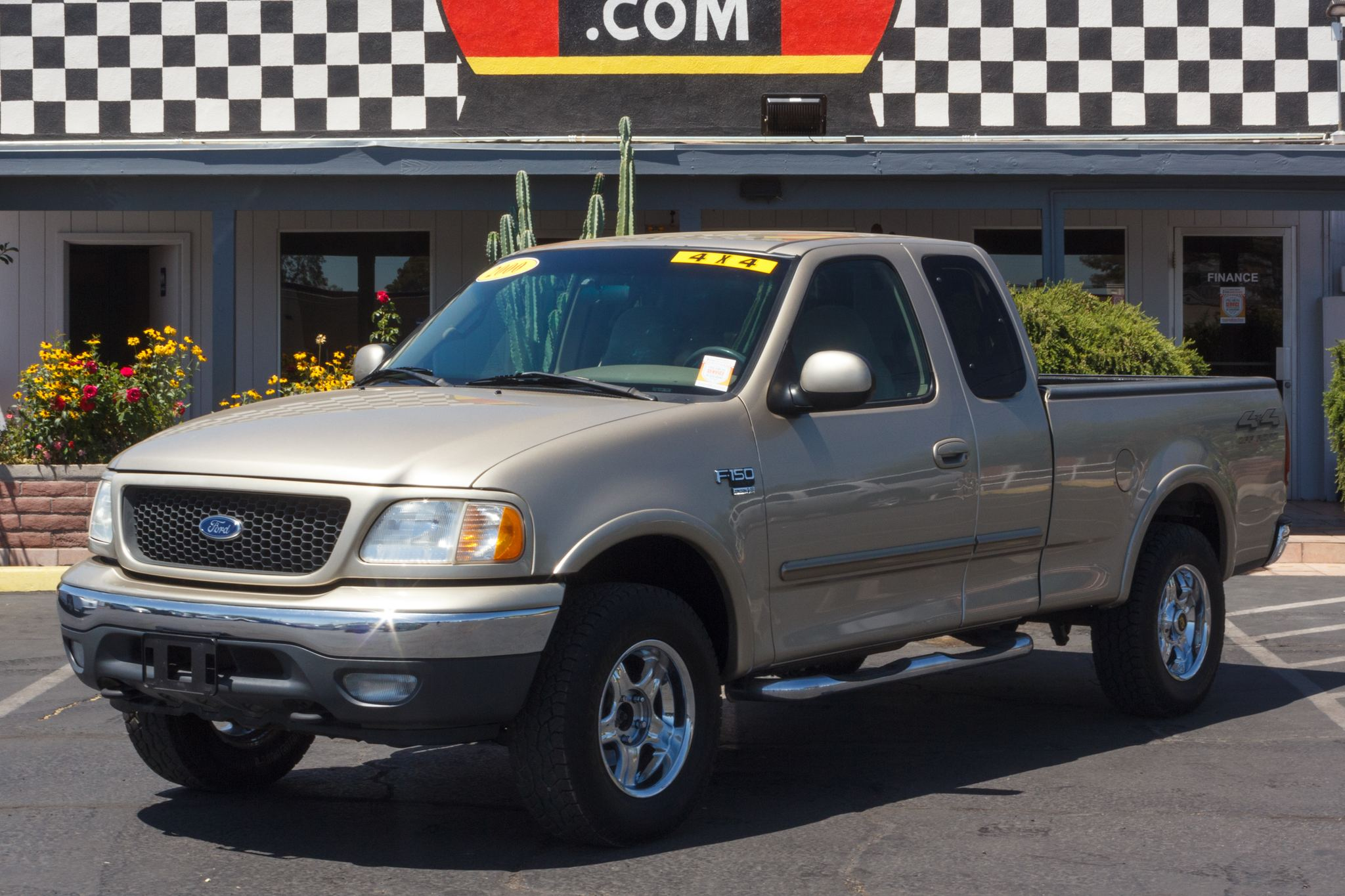 Photo of 2000 Ford F150 4WD Supercab XLT
