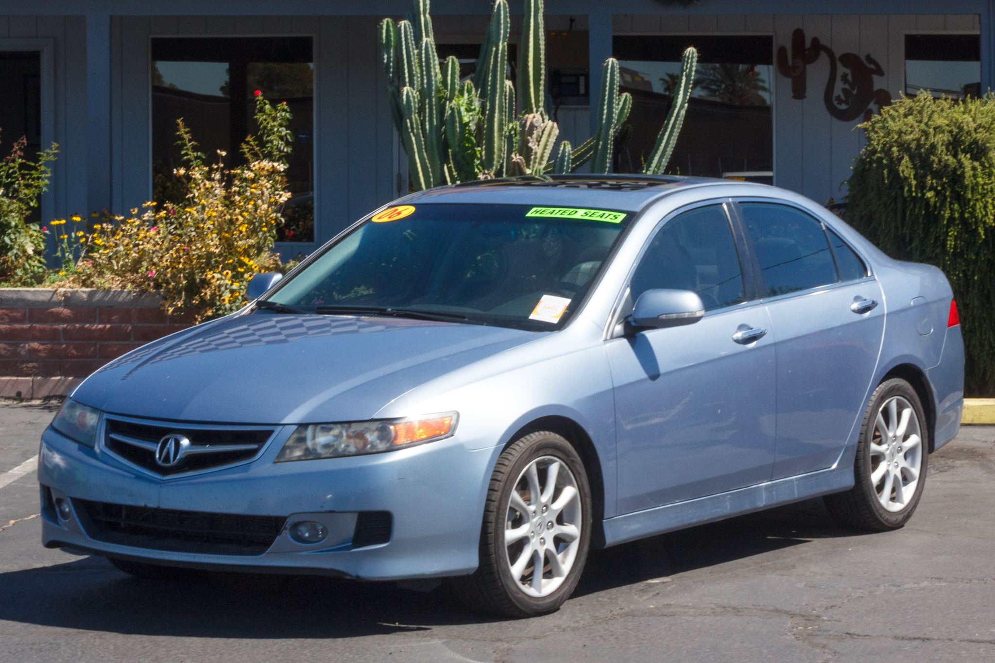 CactusAuto Car For Sale 2006 Acura TSX 4d Sedan Auto Blue