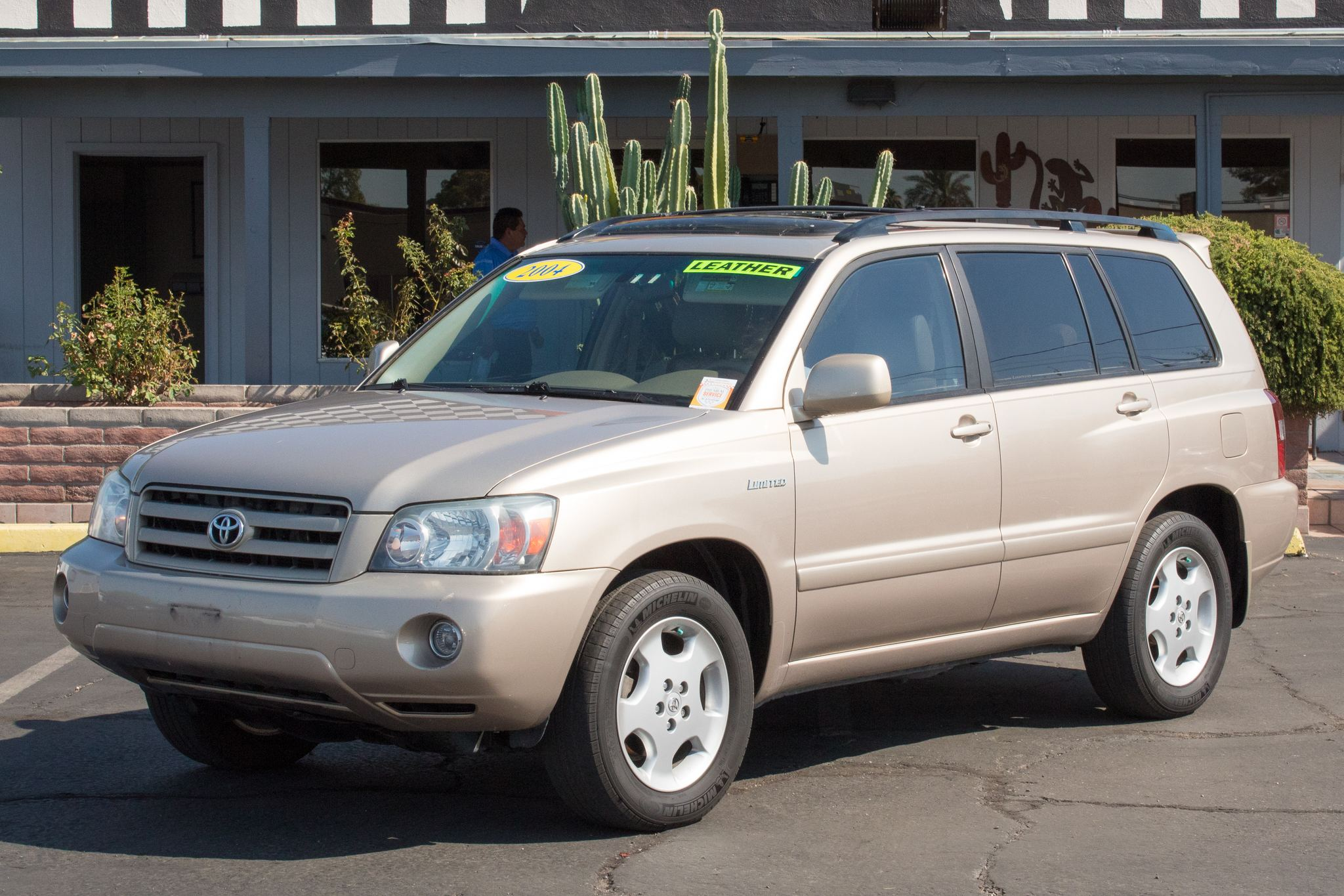 Photo of 2004 Toyota Highlander 4d SUV AWD Limited