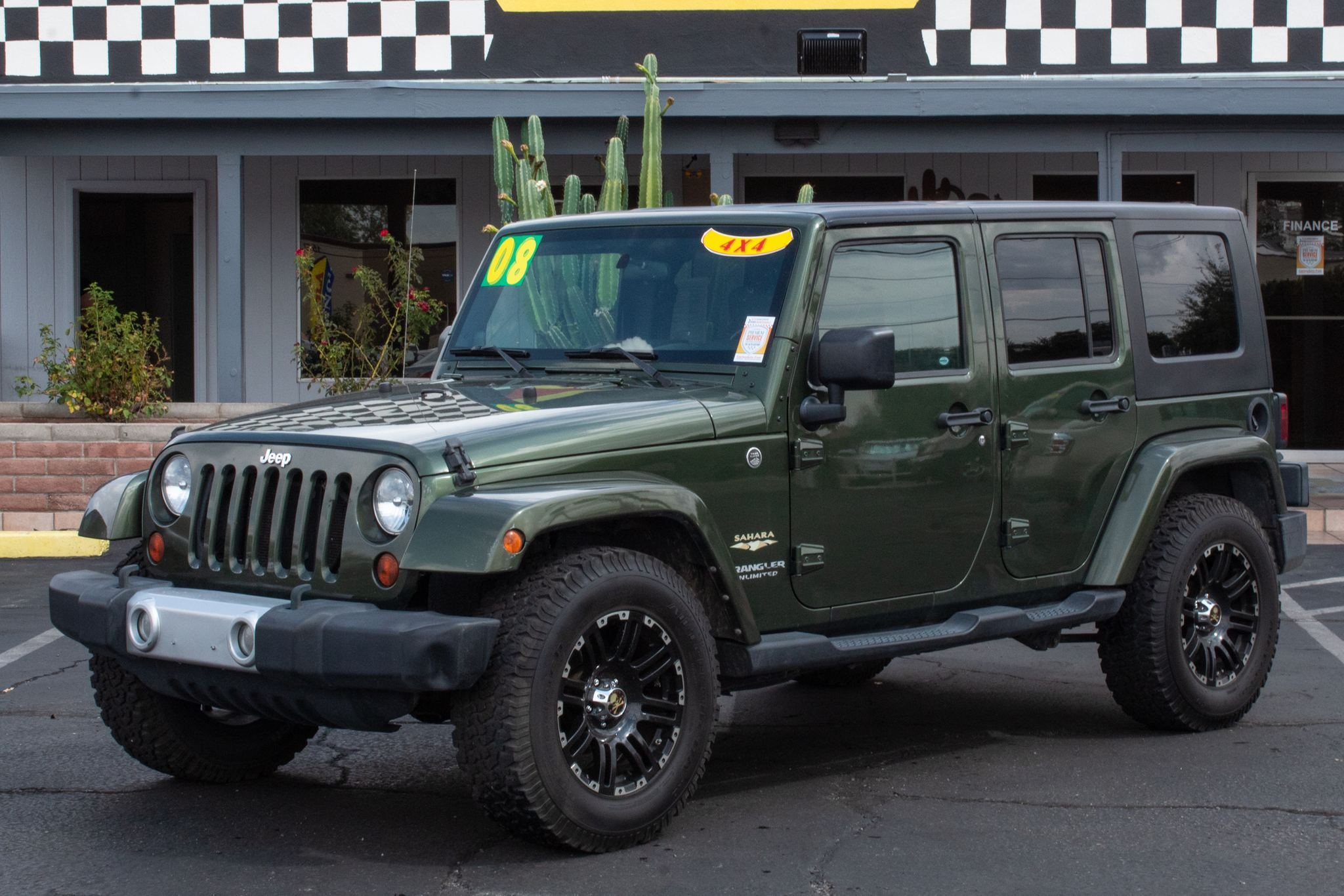 Photo of 2008 Jeep Wrangler Unlimited 4d Convertible 4WD Sahara
