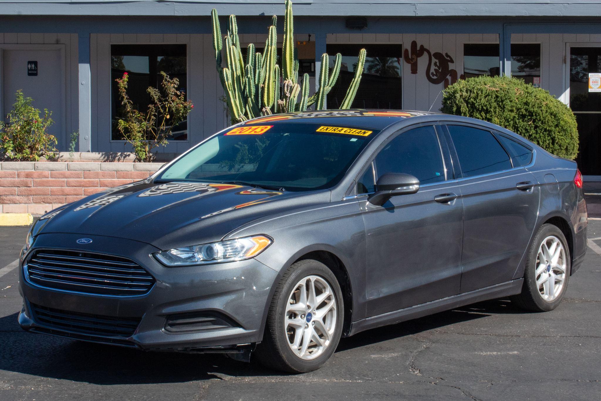 Photo of 2013 Ford Fusion 4d Sedan SE 1.6L EcoBoost