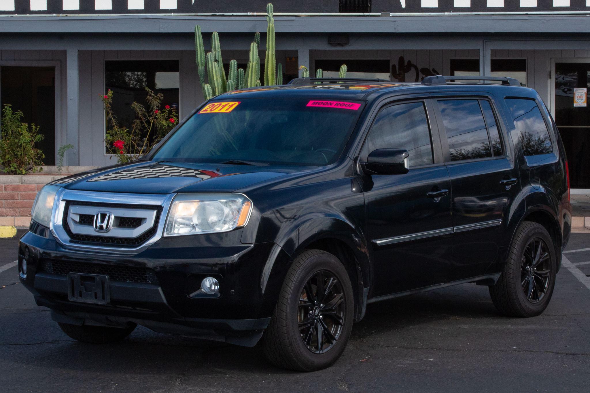 2011 Honda Pilot 4d SUV 4WD Touring