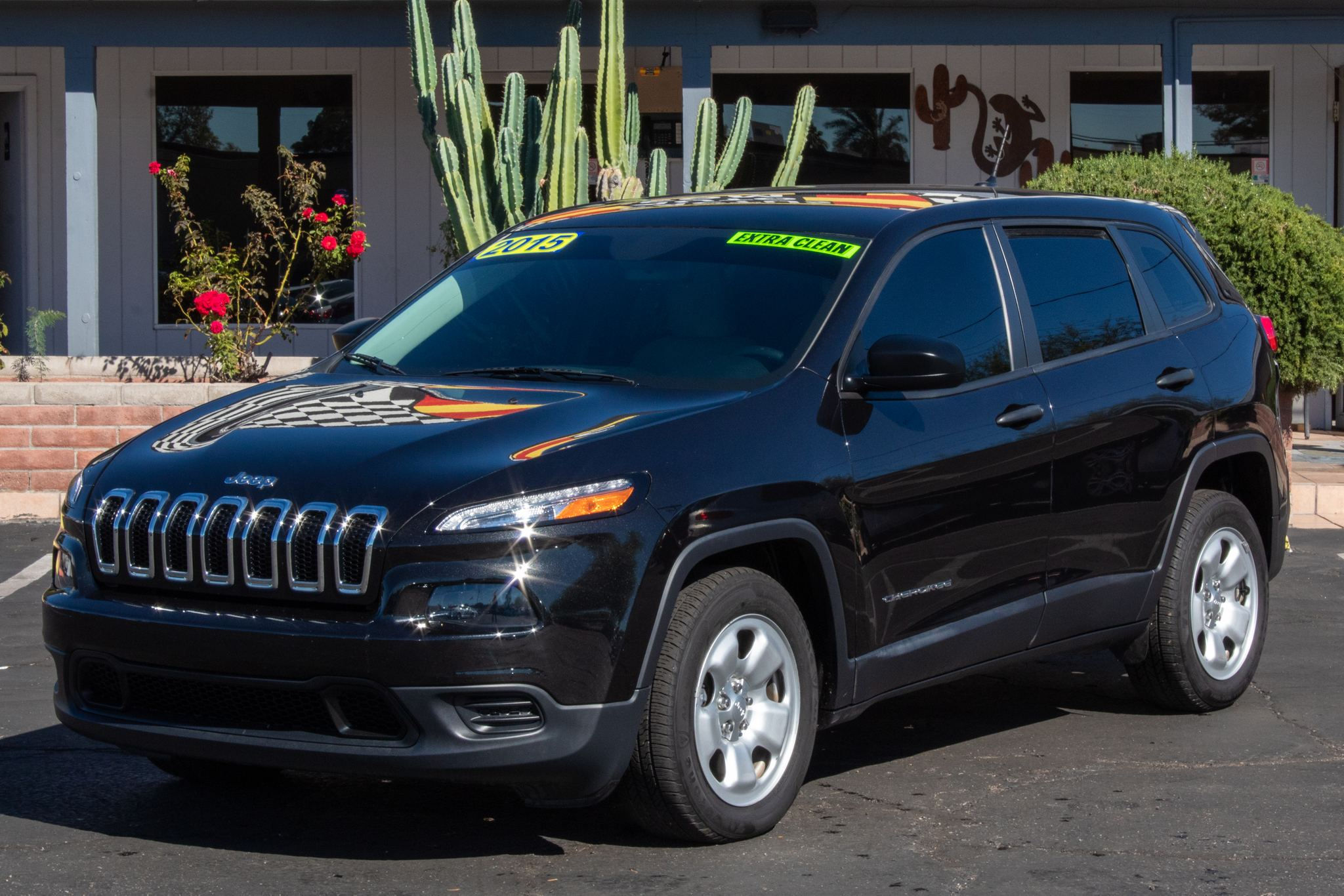 Photo of 2015 Jeep Cherokee 4d SUV FWD Sport