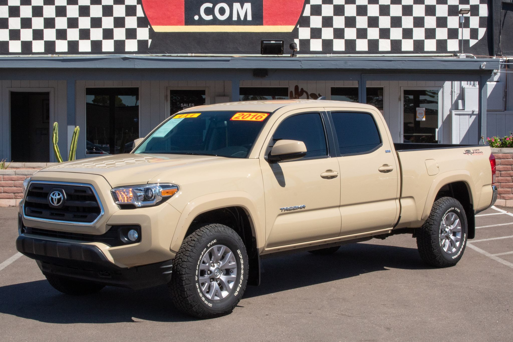 Photo of 2016 Toyota Tacoma 4WD Double Cab SR5 Long Bed