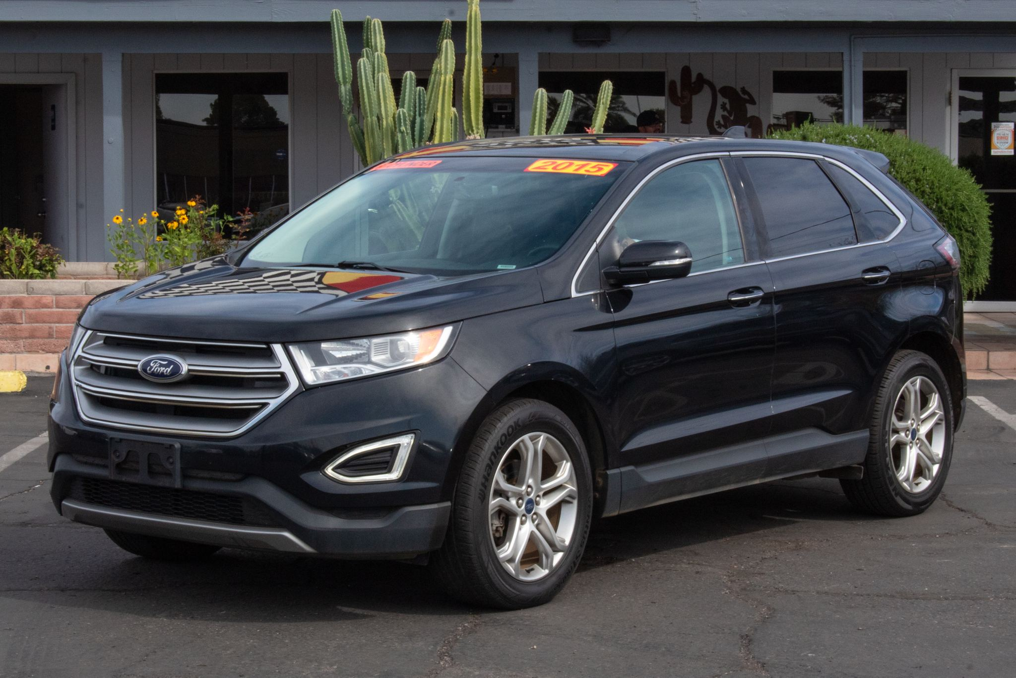 Photo of 2015 Ford Edge 4d SUV FWD Titanium EcoBoost