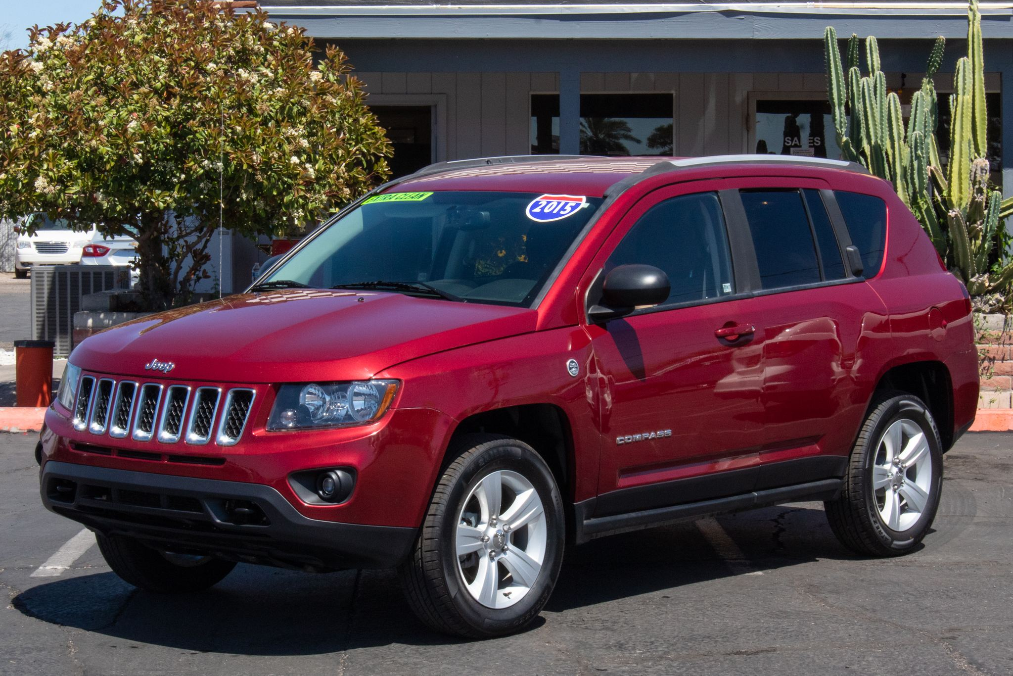 Photo of 2015 Jeep Compass 4d SUV 4WD Sport