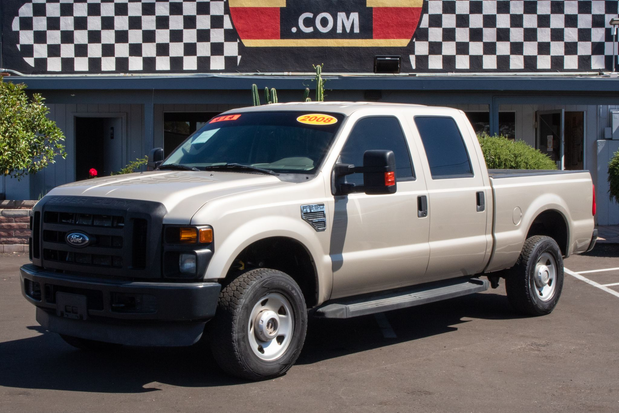 Photo of 2008 Ford F250 4WD Crew Cab FX4