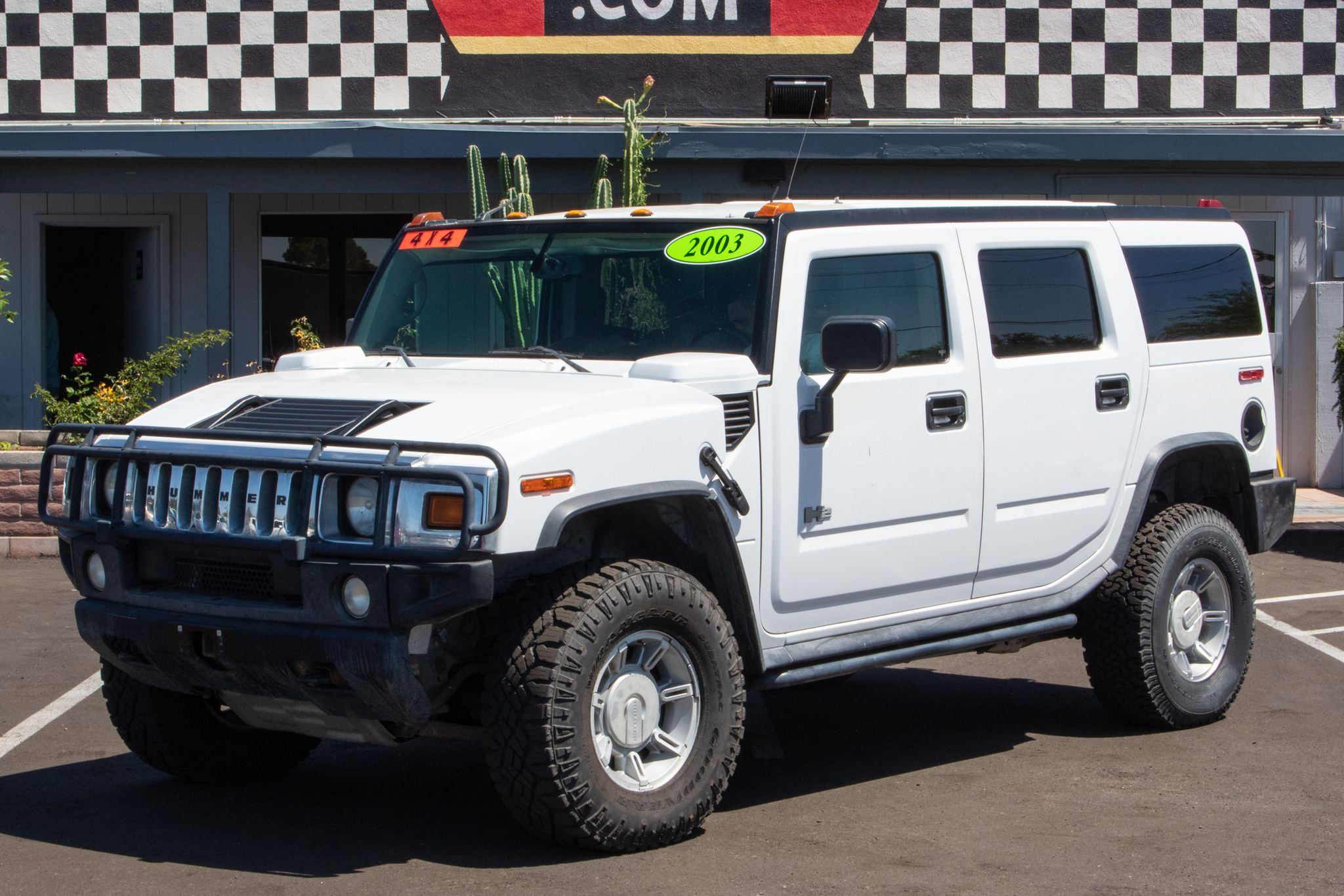 Photo of 2003 Hummer H2 4d SUV Luxury