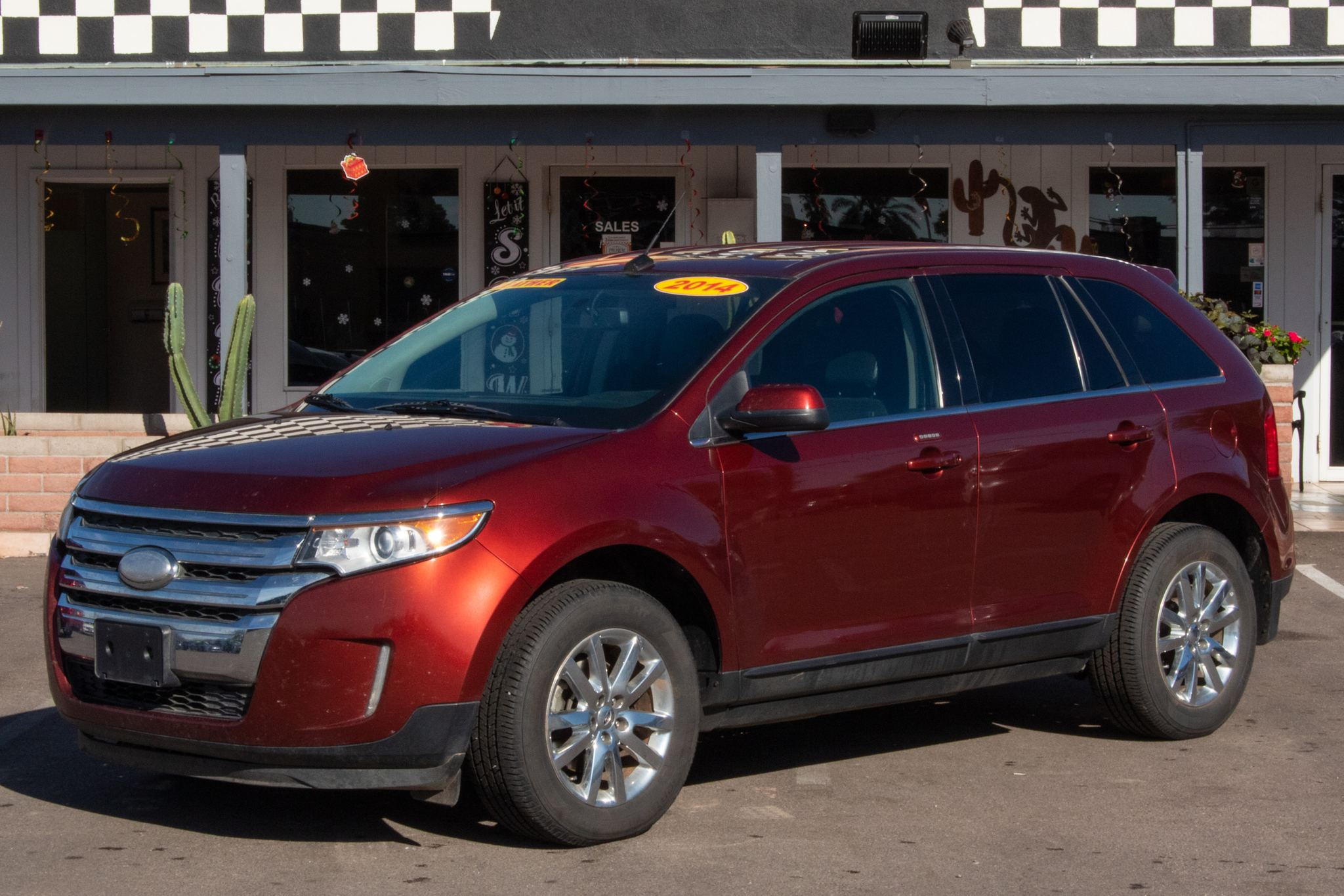 Photo of 2014 Ford Edge 4d SUV FWD Limited
