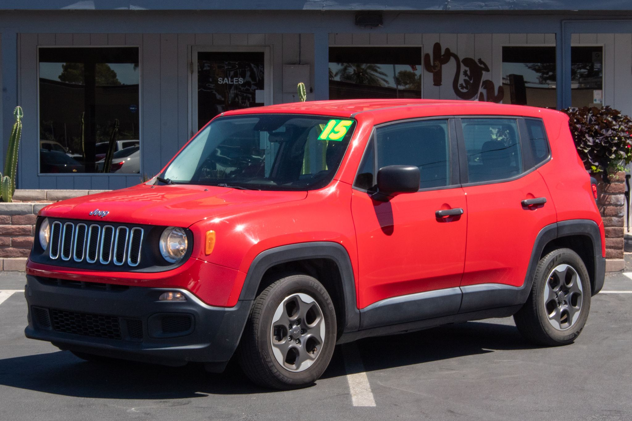 Photo of 2015 Jeep Renegade 4d SUV FWD Sport